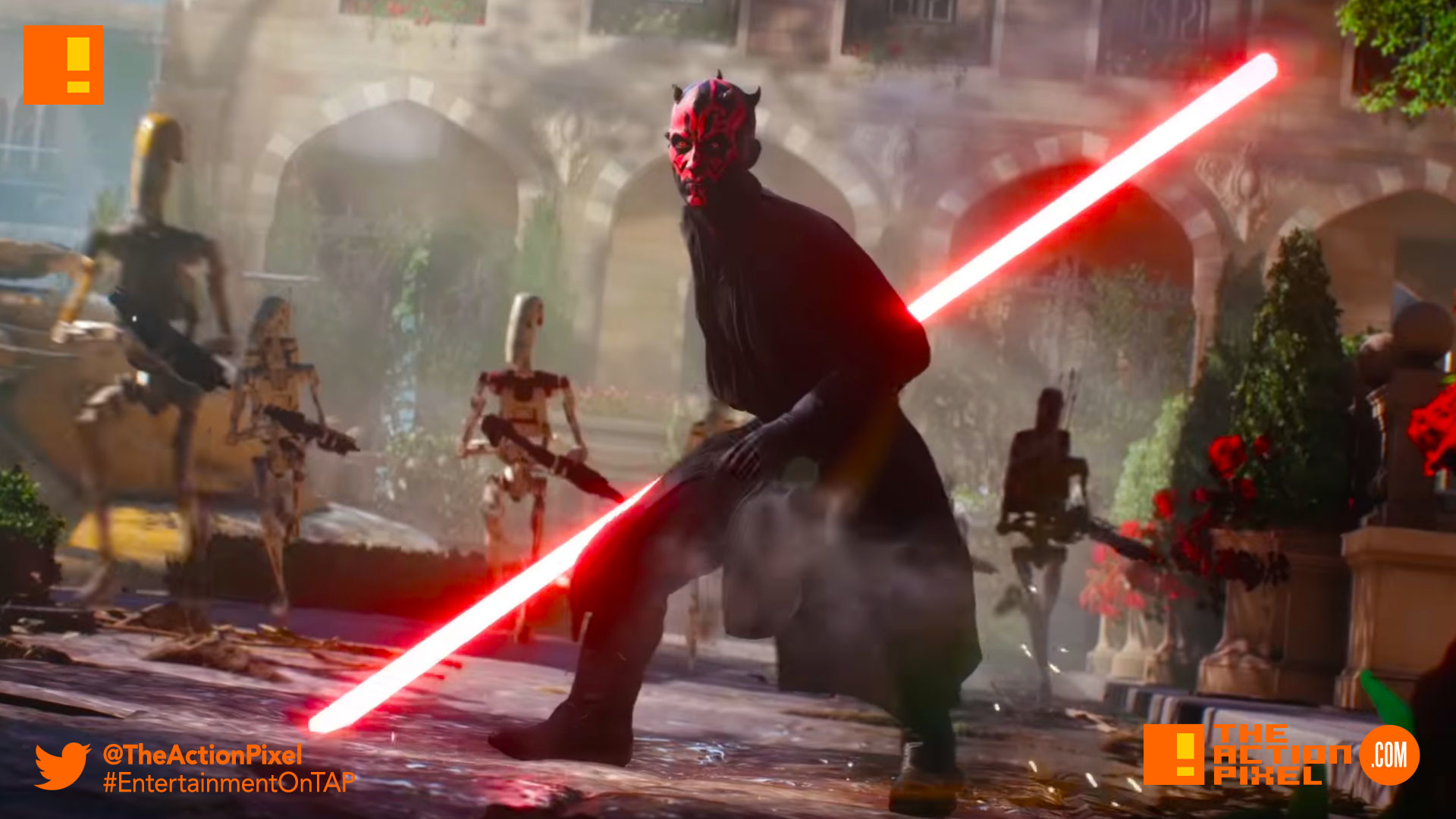 darth maul, battlefront II, star wars battlefront II,star wars  battlefront,star