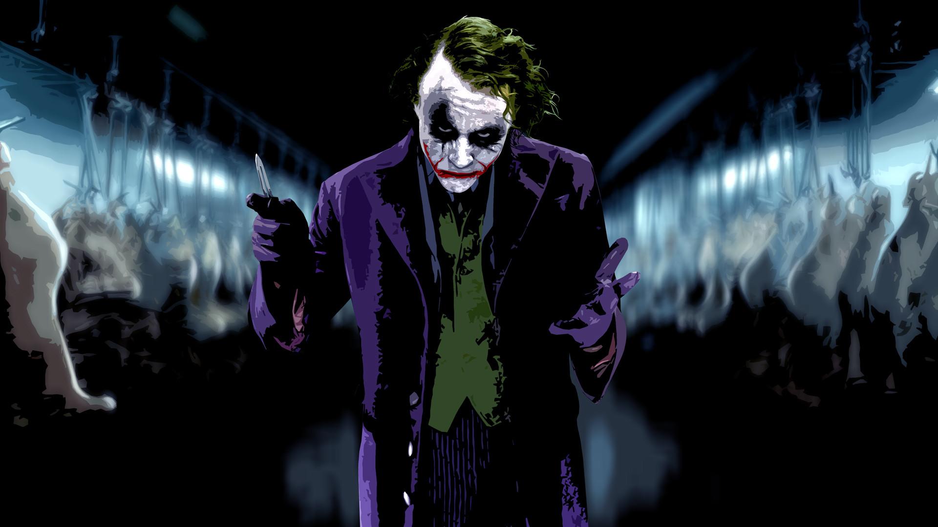 wallpaper The Joker · Heath Ledger