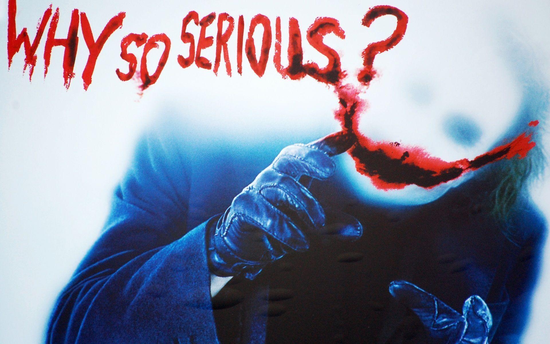 Memes For > Joker Why So Serious Wallpaper Hd 1080p