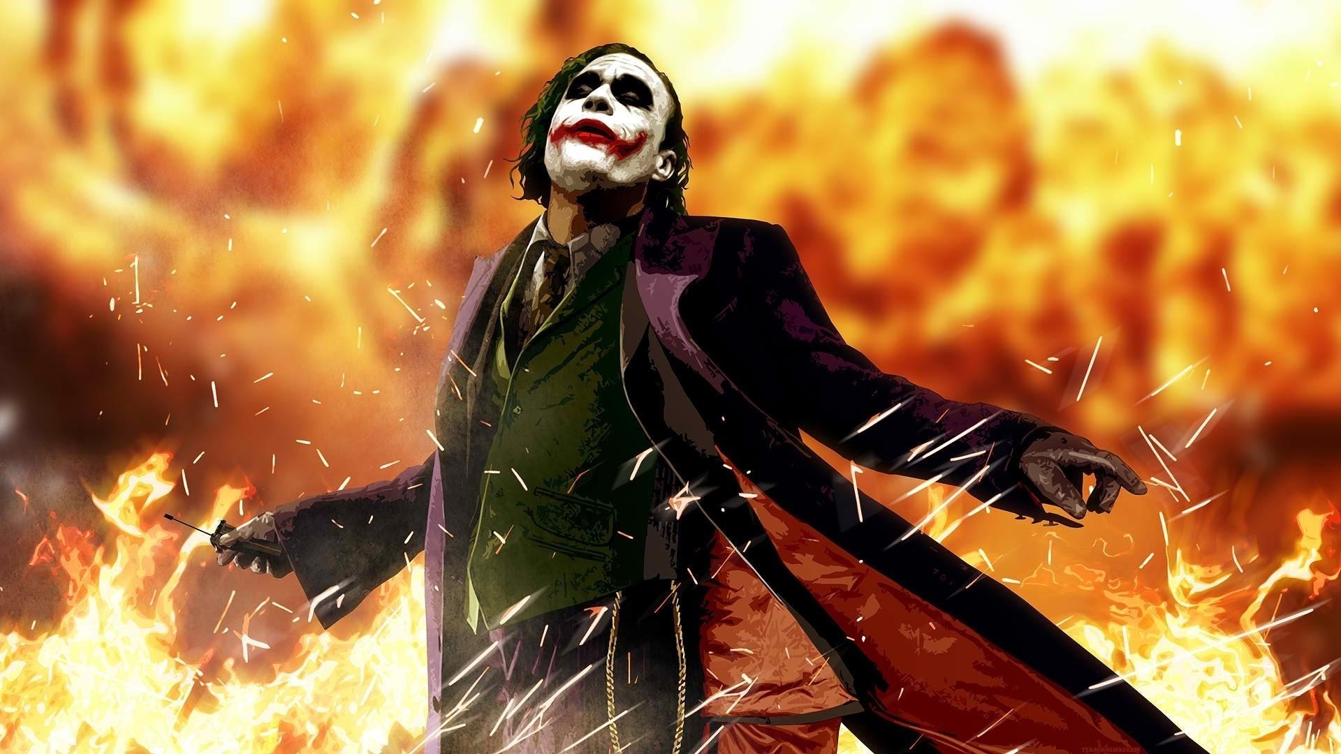 anime, Heath Ledger, Movies, Joker, Batman, The Dark Knight Wallpapers HD /  Desktop and Mobile Backgrounds