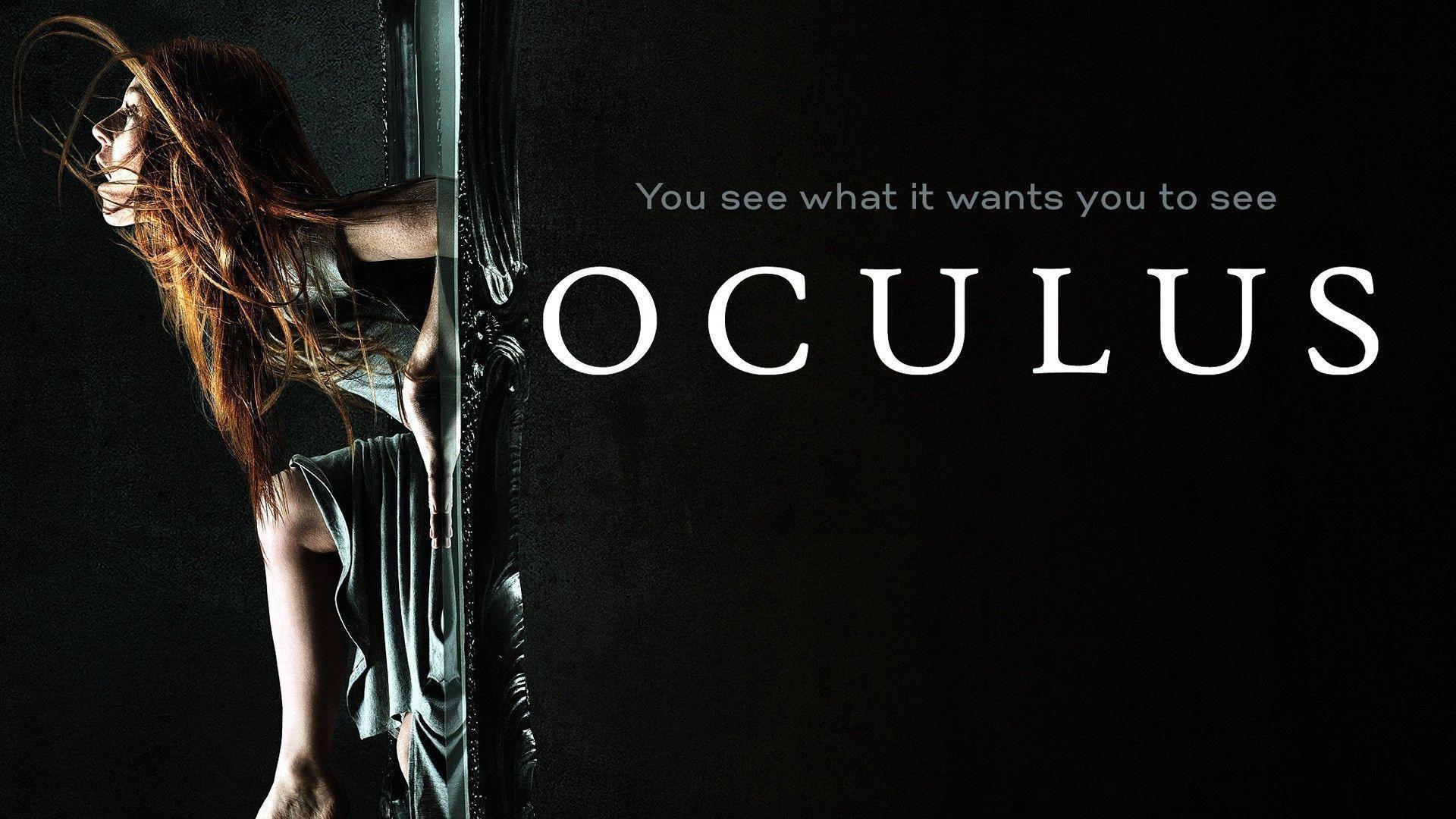 New Oculus 2014 Horror Movie Poster Wallpaper HD for Desktop .