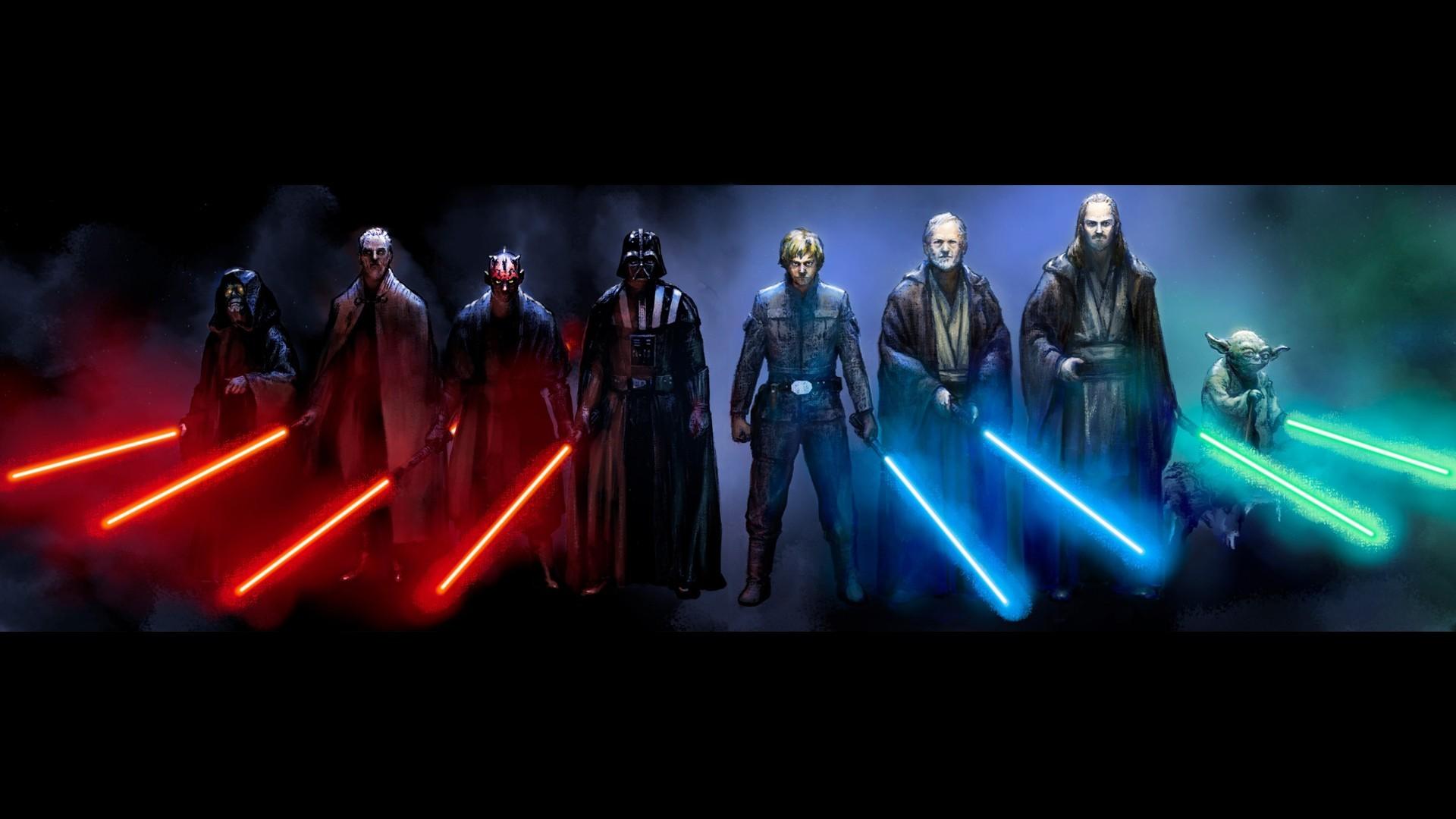 Star Wars Female Jedi   Hd Desktop Wallpaper – star wars darth vader sith  jedi luke