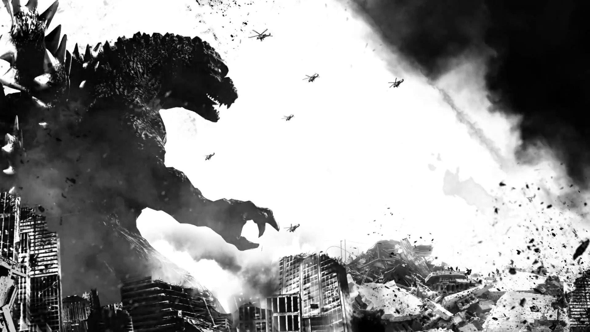 GODZILLA action adventure sci-fi dinosaur monster creature .