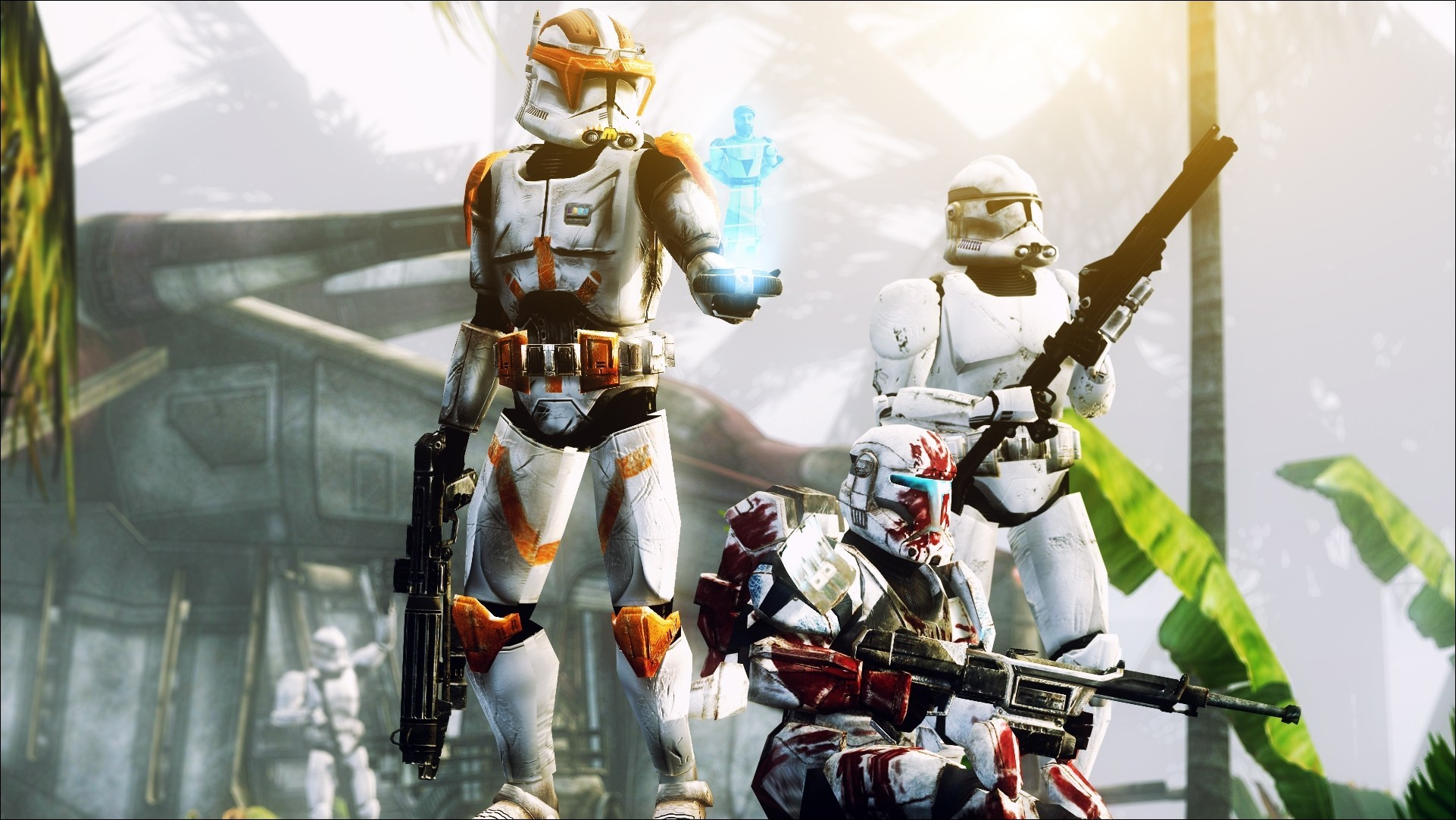 Clone Wars, Star Wars wallpaper thumb