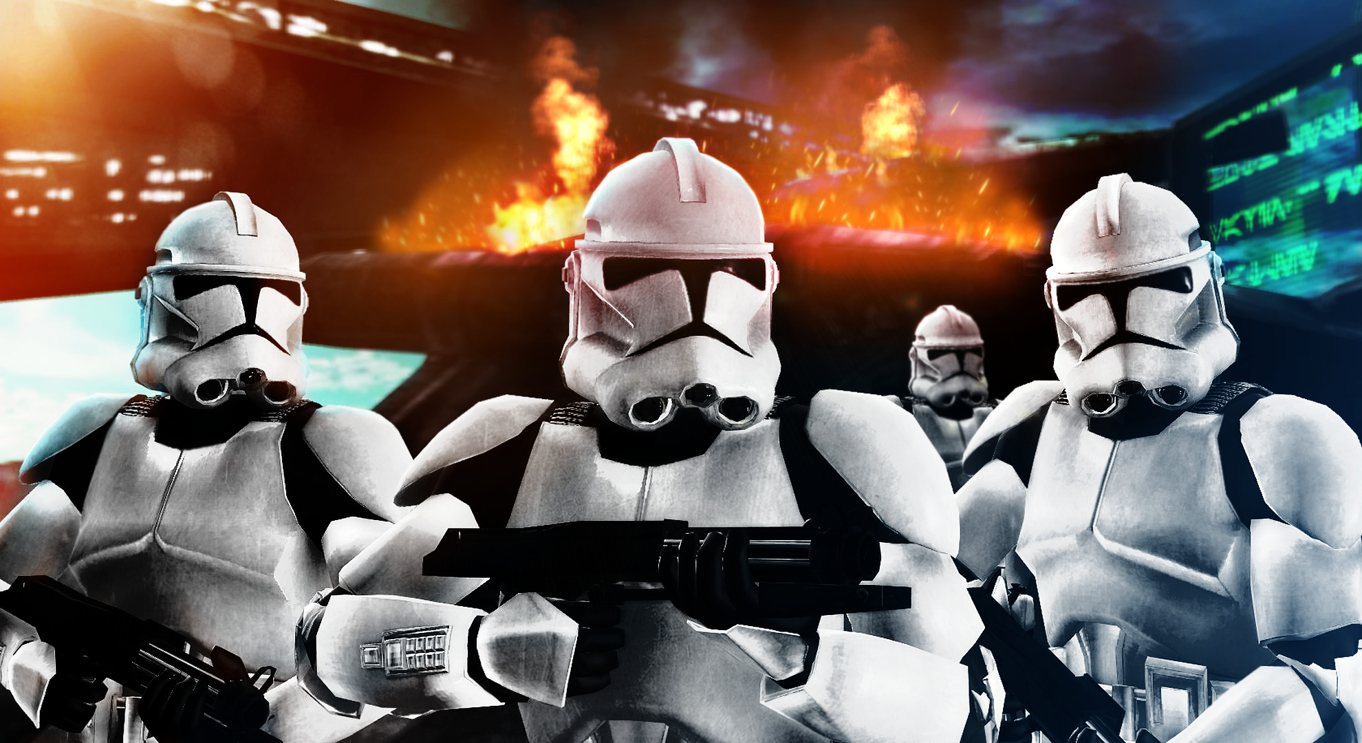 Clone Troopers by Lord.
