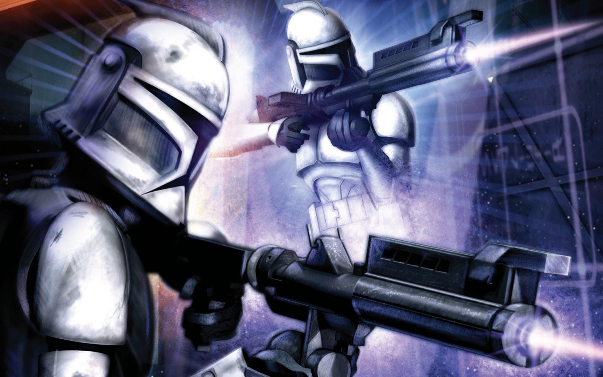 Sci Fi – Star Wars Clone Trooper Wallpaper