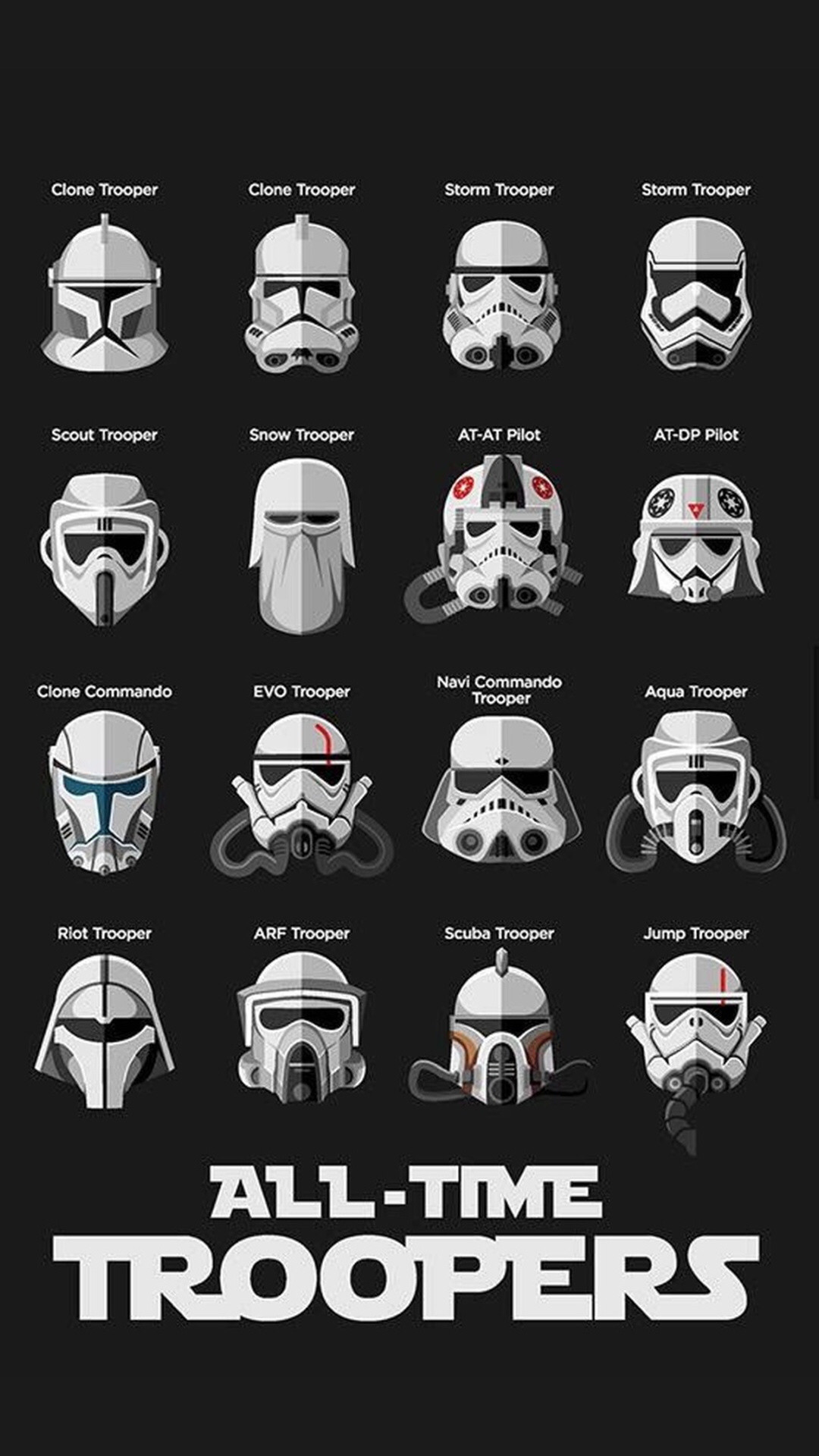 Check out this wallpaper for your iPhone: https://zedge.net/ · Wallpaper  ForStorm TroopersClone …