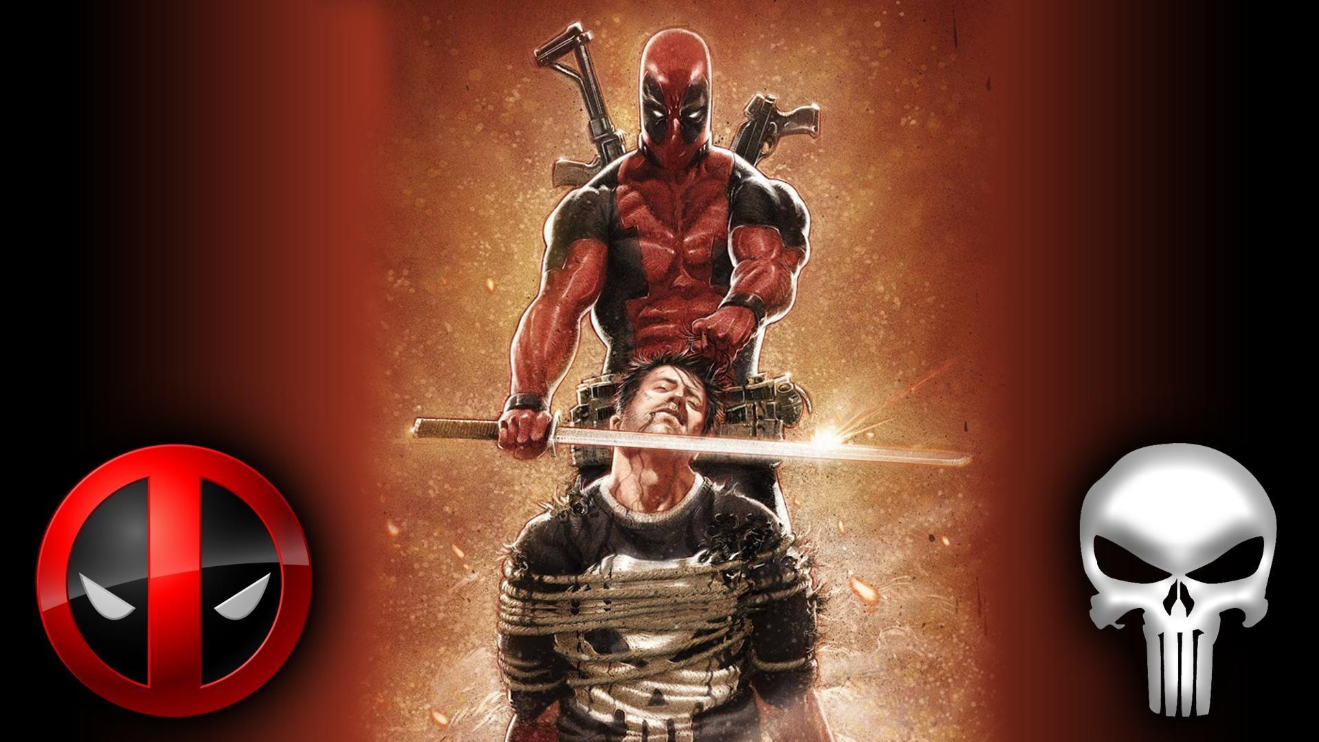 Deadpool Punisher wallpaper by Badonk on DeviantArt