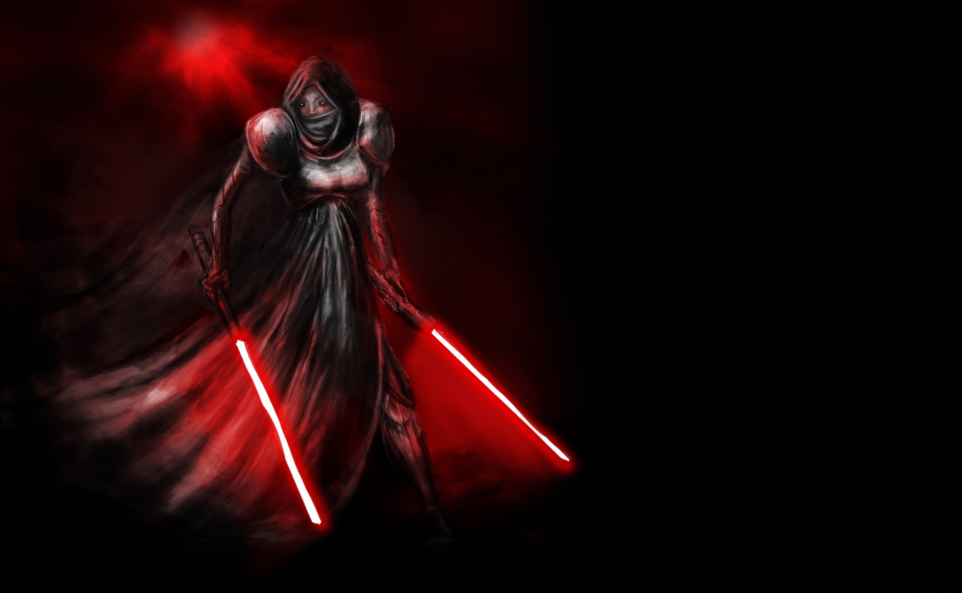 Lightsabers Star Wars Artwork