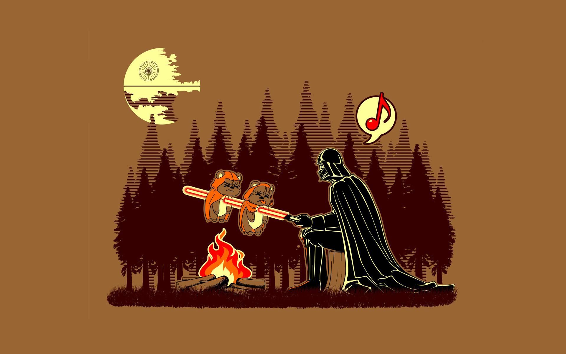 star-wars death star wars darth vader vader sadic humor funny lightsaber  sci-fi