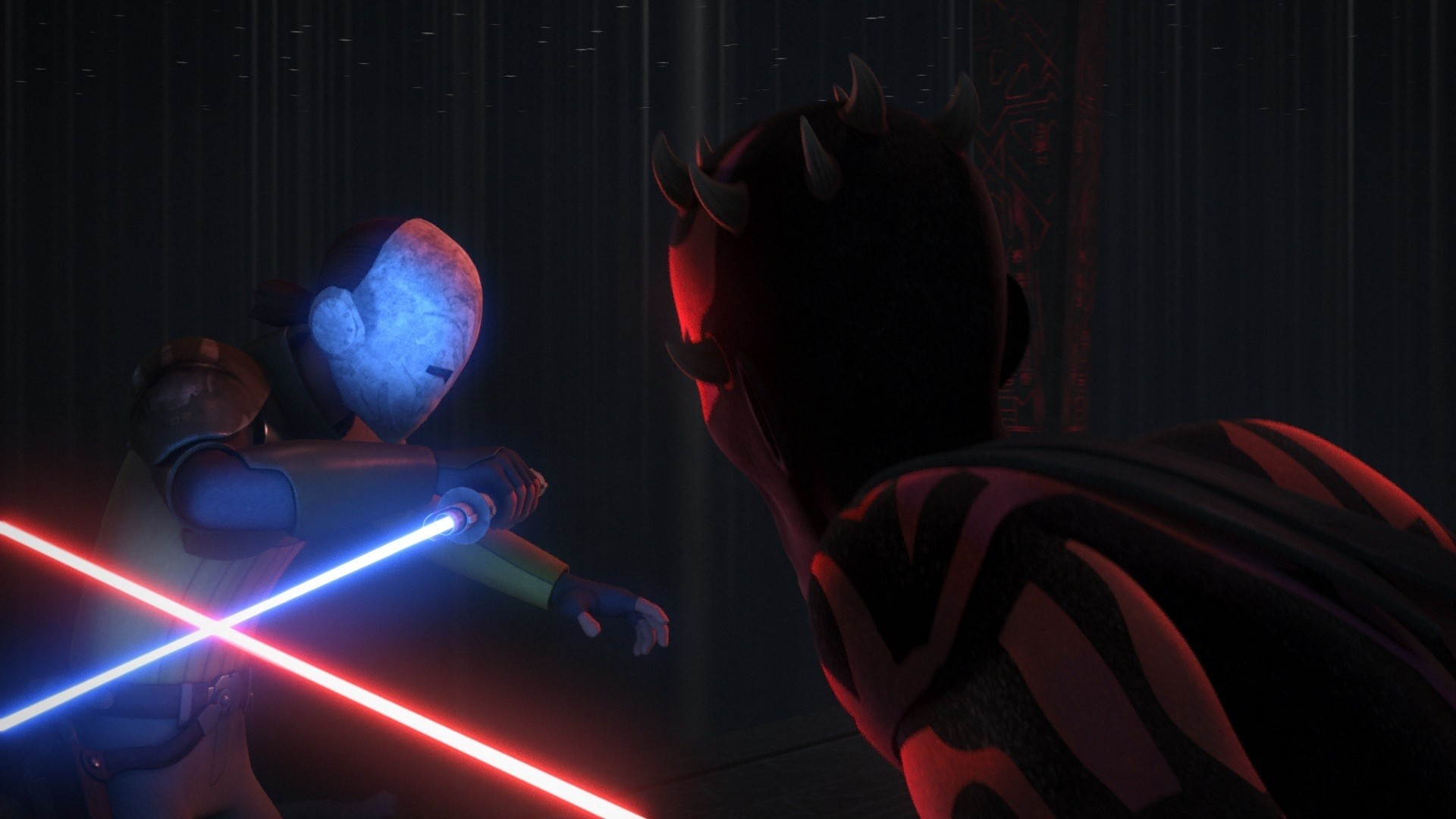 Star Wars Rebels – Kanan vs. Maul