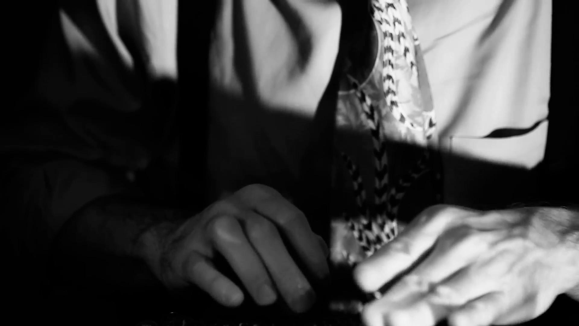Film Noir tilt up from typewriter to reporter Stock Video Footage –  VideoBlocks