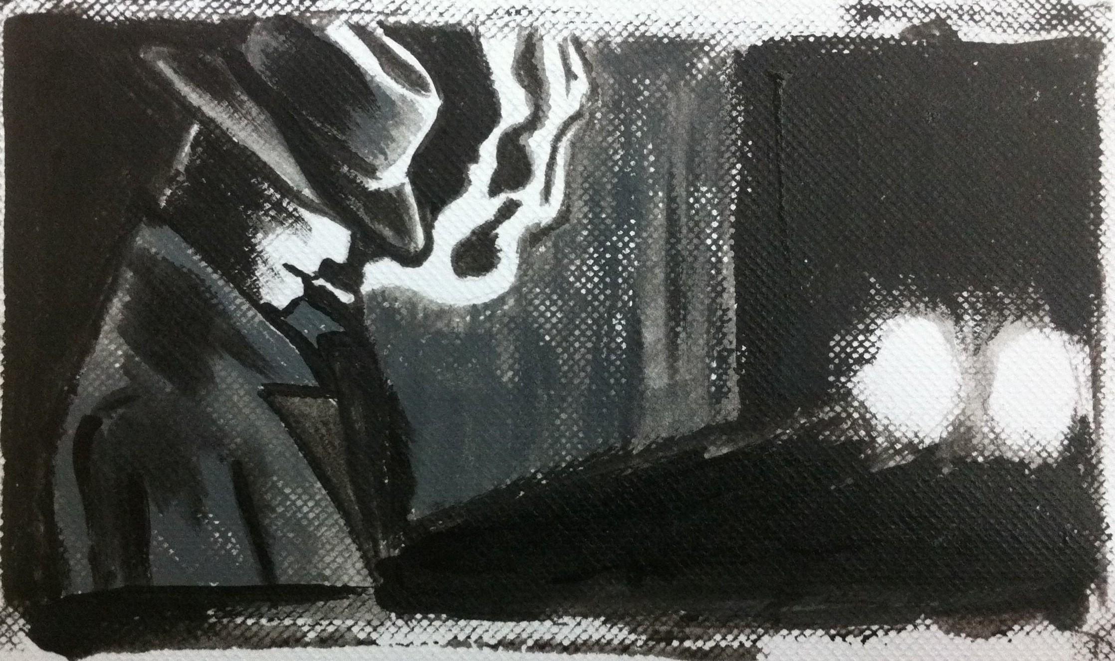 It is a part of Film Noir …