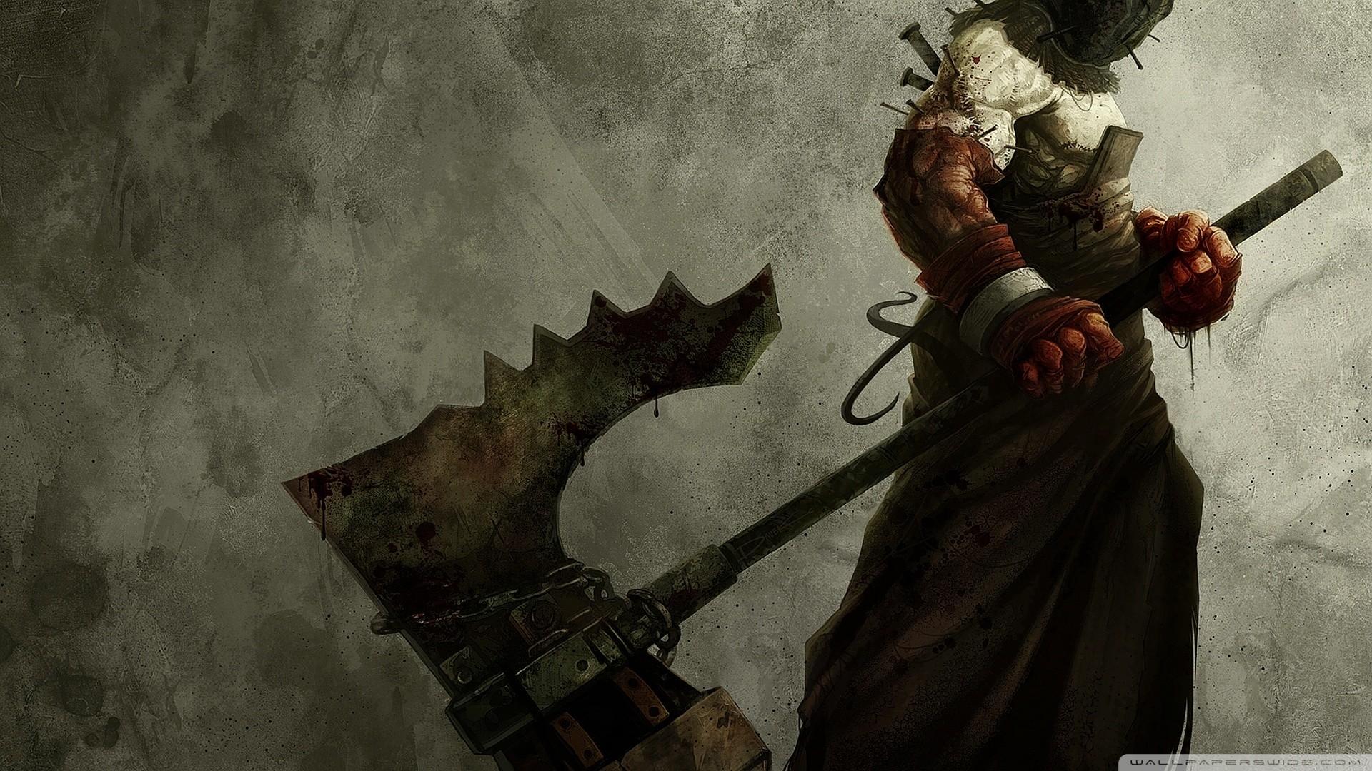 Resident Evil Art HD Wide Wallpaper for Widescreen
