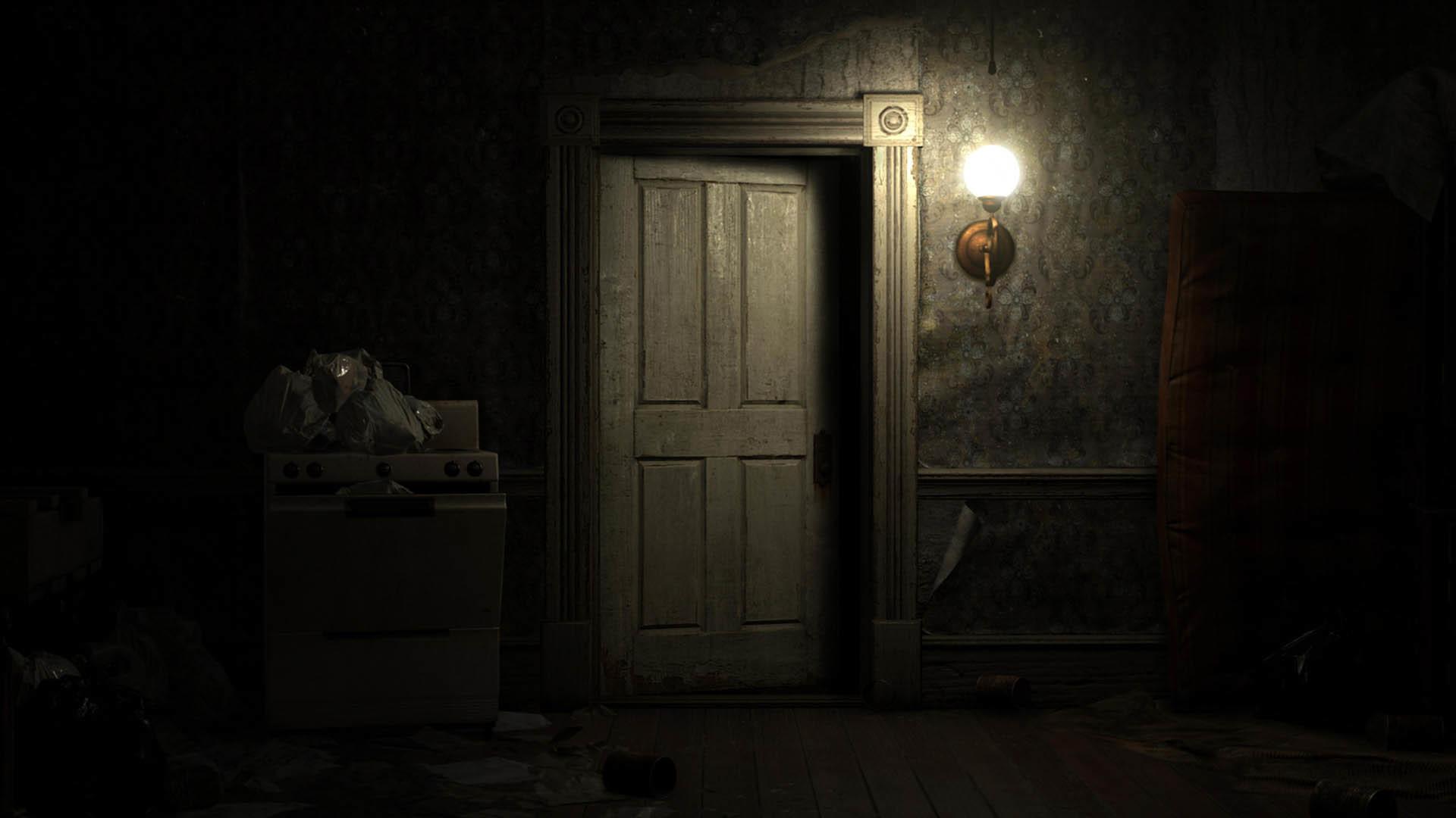 Scary Door – Resident Evil 7: Biohazard wallpaper