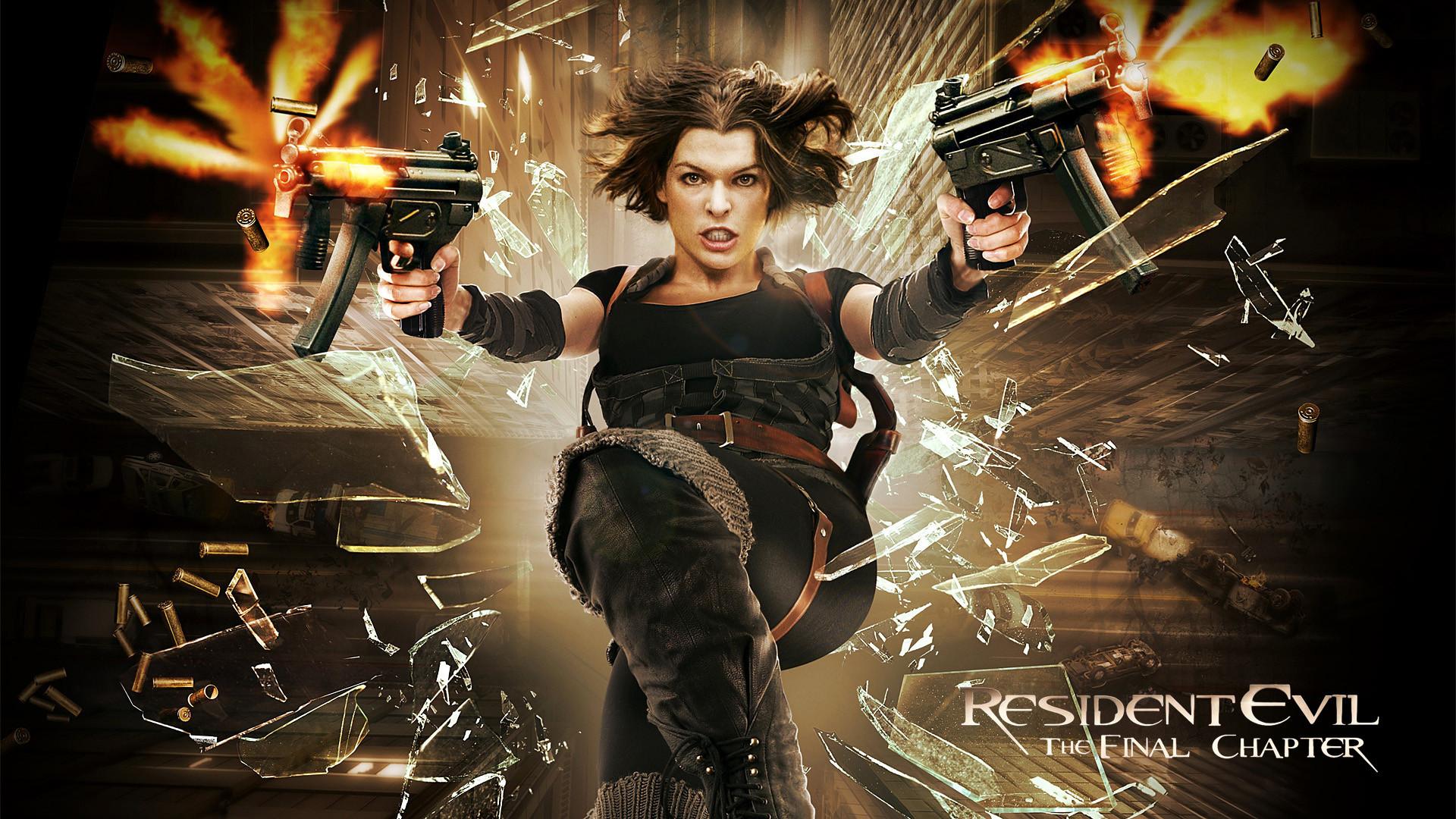 Resident Evil 6 wallpaper HD film poster 2017