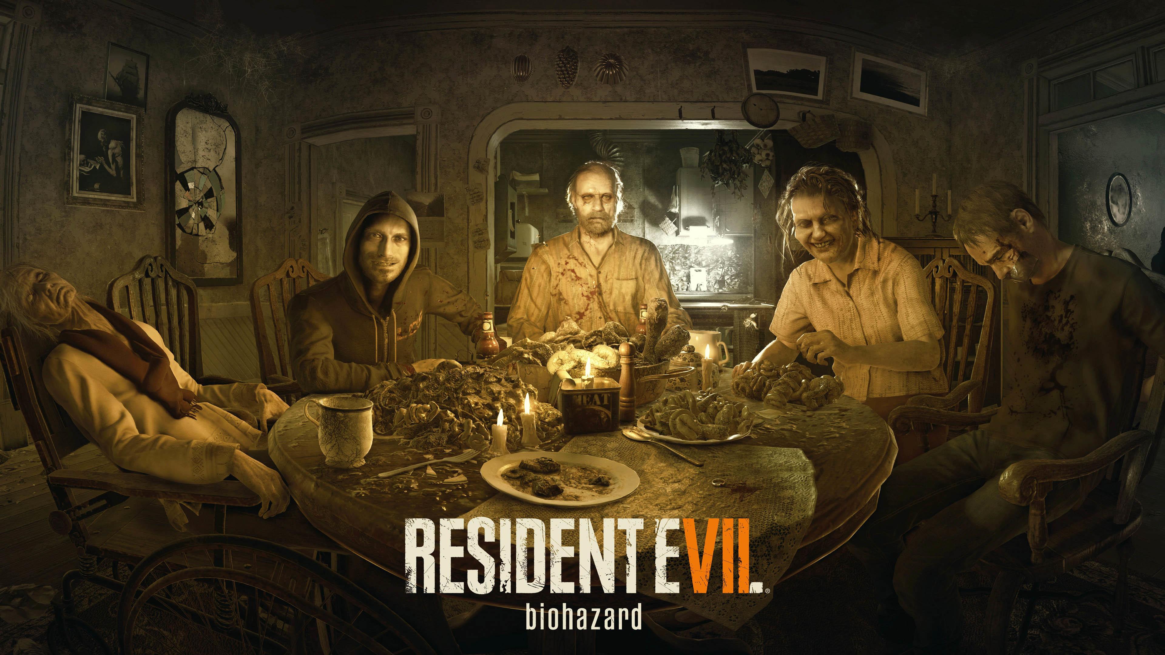 Resident Evil 7: Biohazard 4K wallpaper