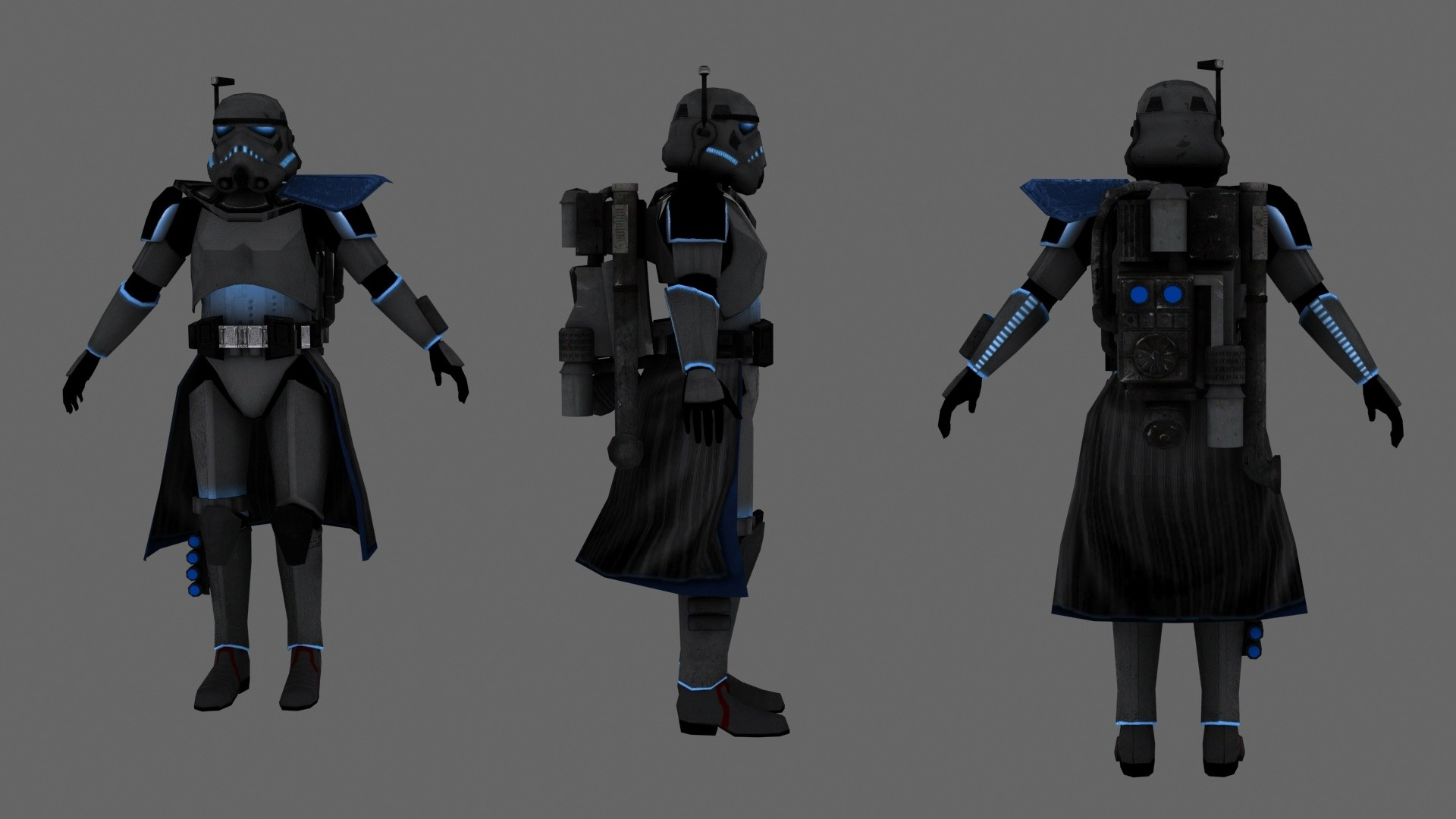 Imperial Arc Shadow Trooper by JakeGreen163 Imperial Arc Shadow Trooper by  JakeGreen163