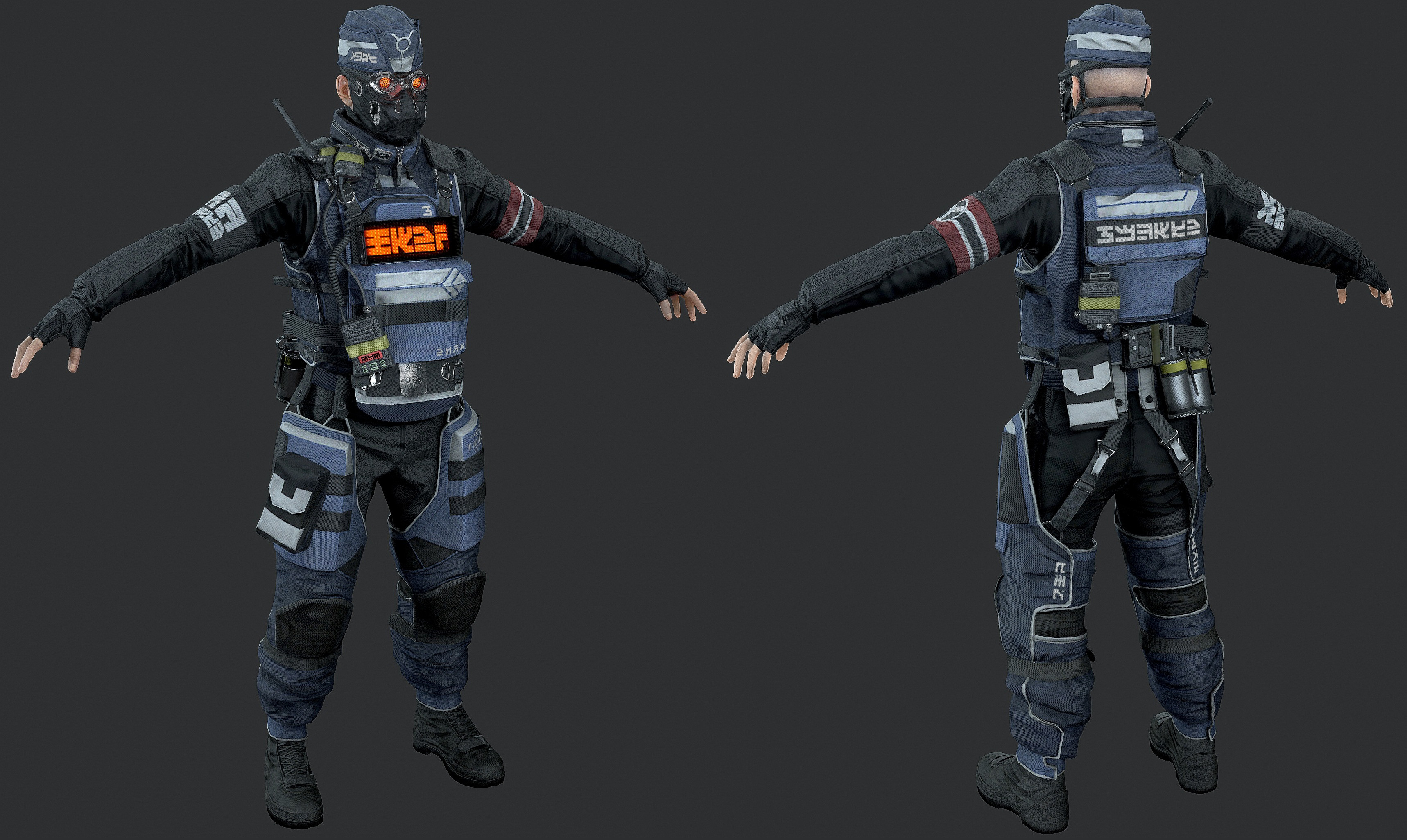 Killzone Shadow Fall – Helghast Security Trooper by luxox18