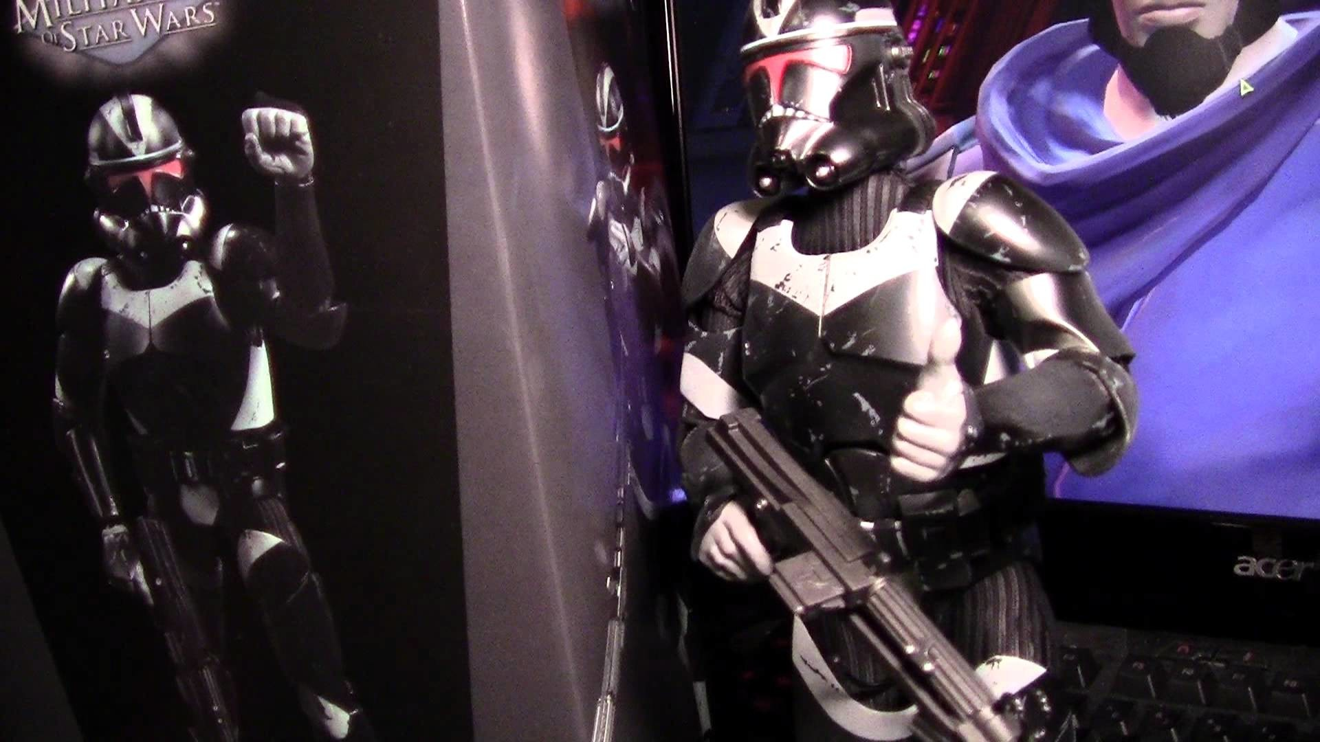 Star Wars Utapau Shadow Trooper from Sideshow Collectibles Review – YouTube