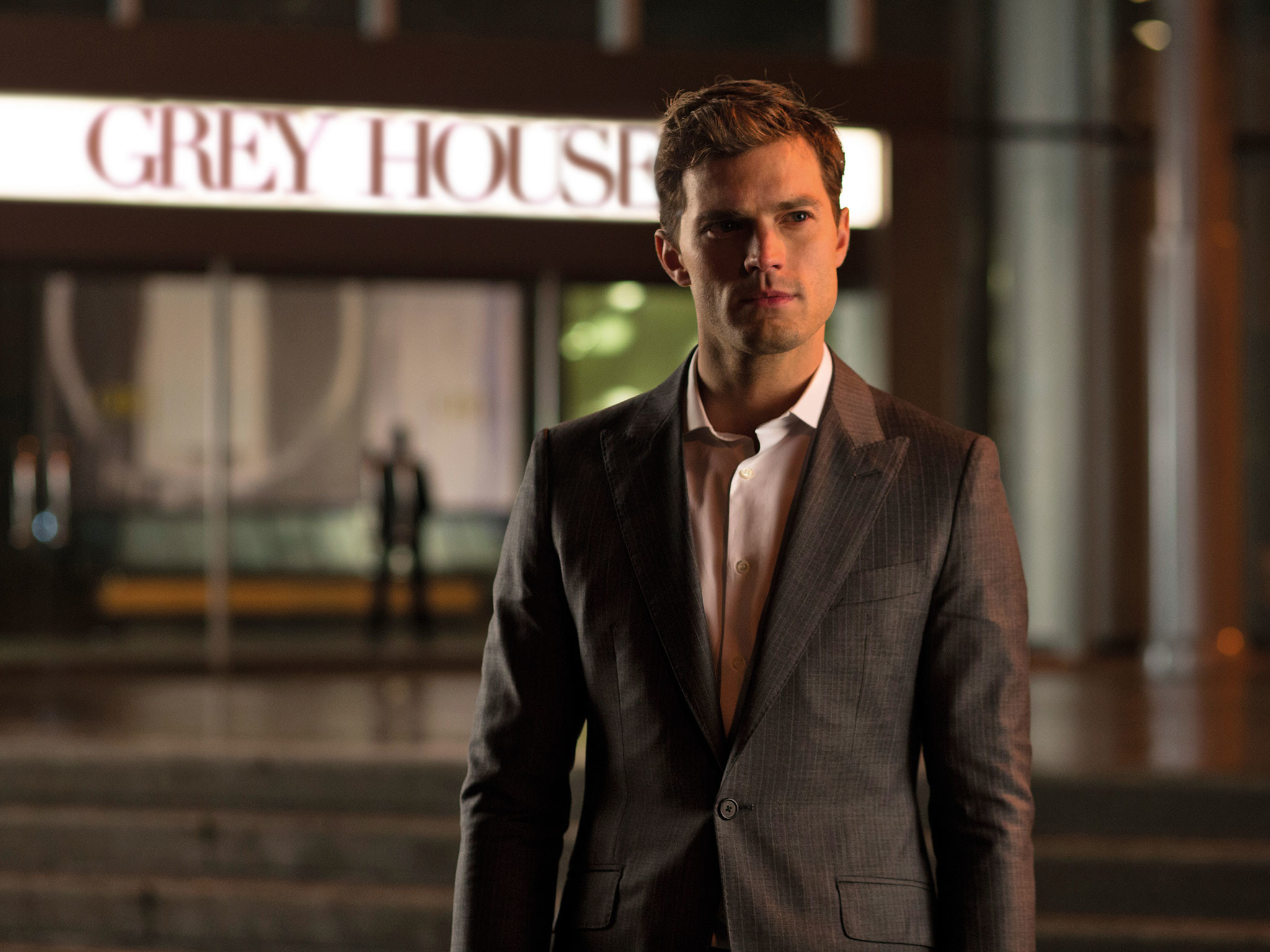 Fifty Shades of Grey movie: Jamie Dornan reveals how he 'protected' Dakota  Johnson in Red Room sex scenes   The Independent