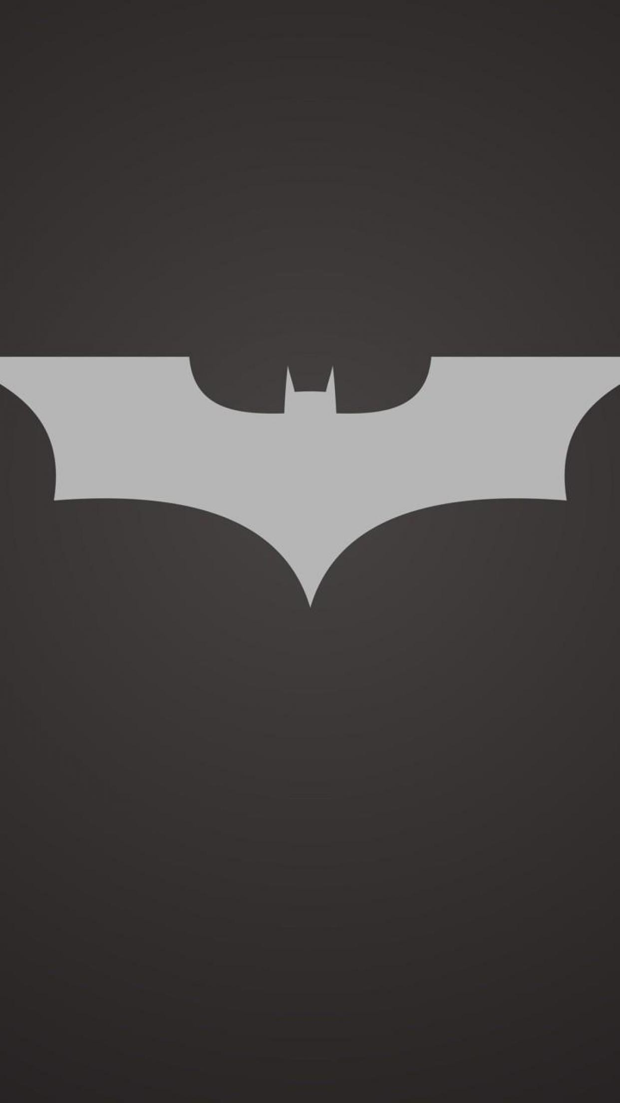 Batman Logo iPhone Wallpapers Free Download.