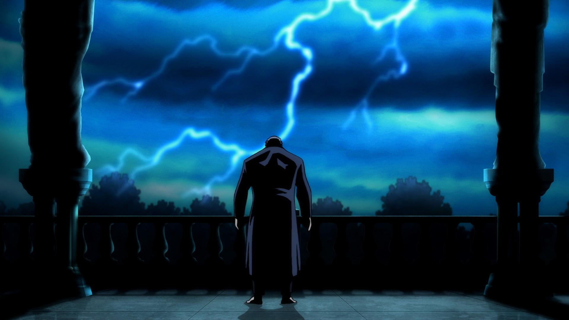 Bruce Wayne in BATMAN: THE DARK KNIGHT RETURNS, PART 1