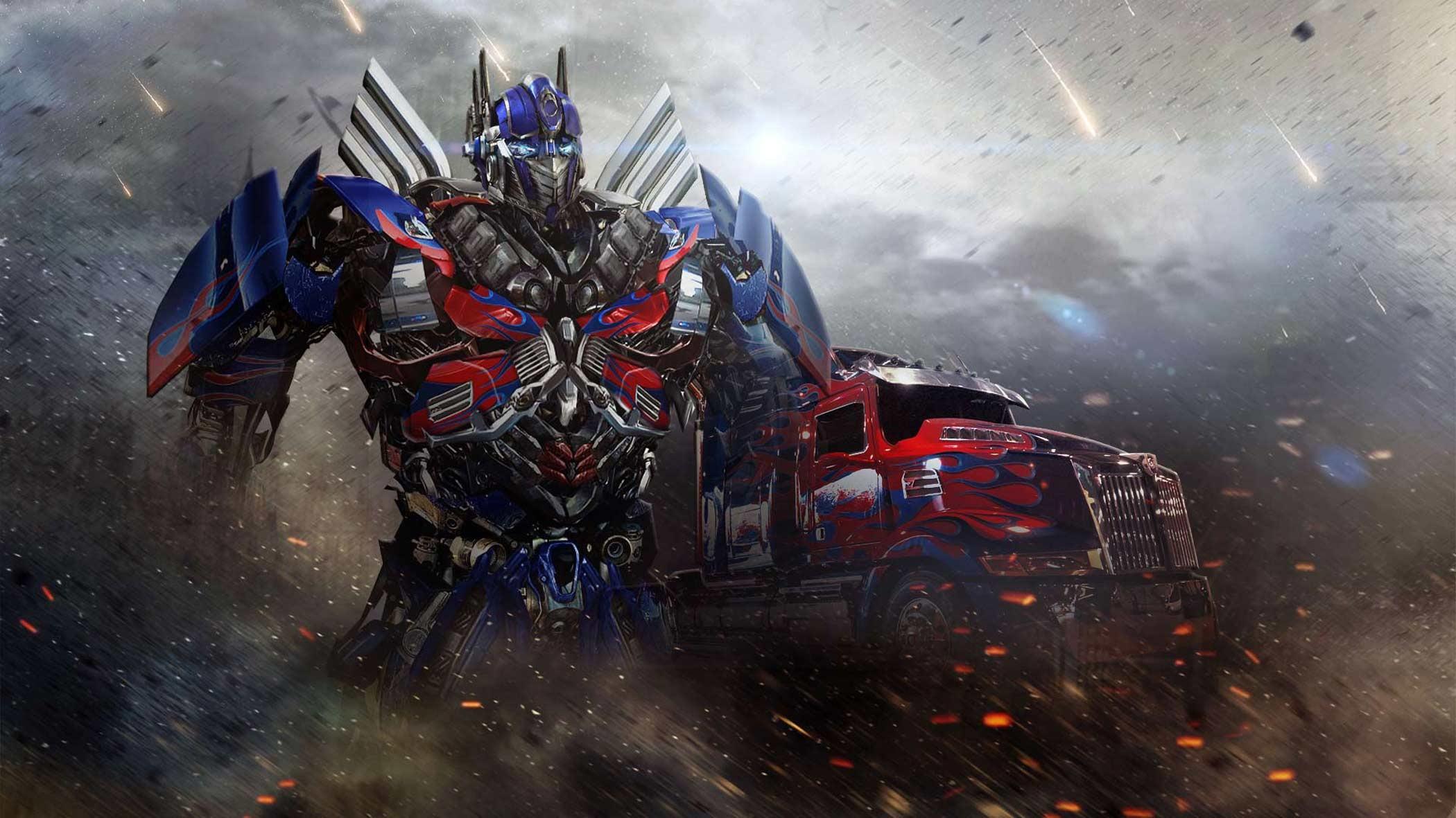 Optimus Prime Toy Age of Extinction – wallpaper.