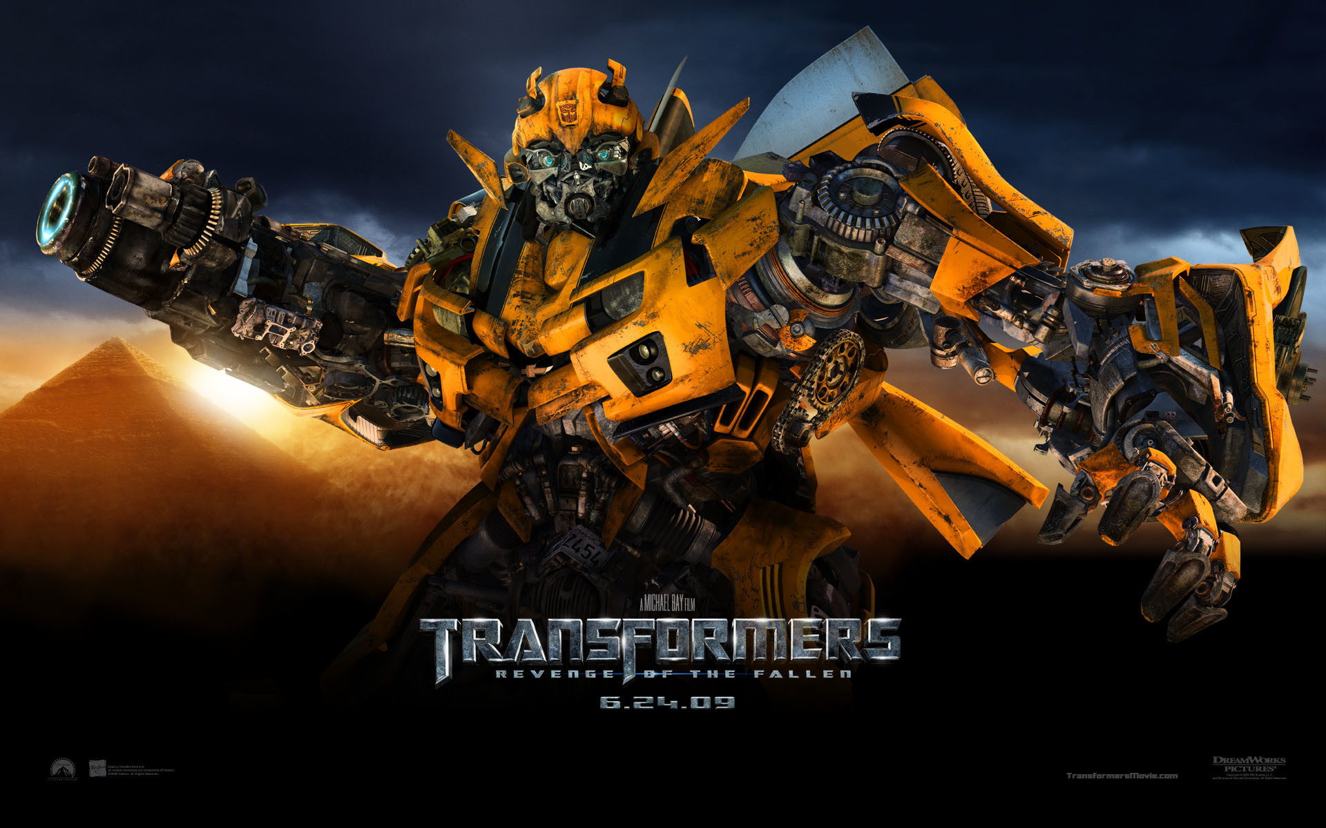 Bumble Bee from Transformers Revenge of the Fallen Movie wallpaper – Click  picture for high resolution HD wallpaper