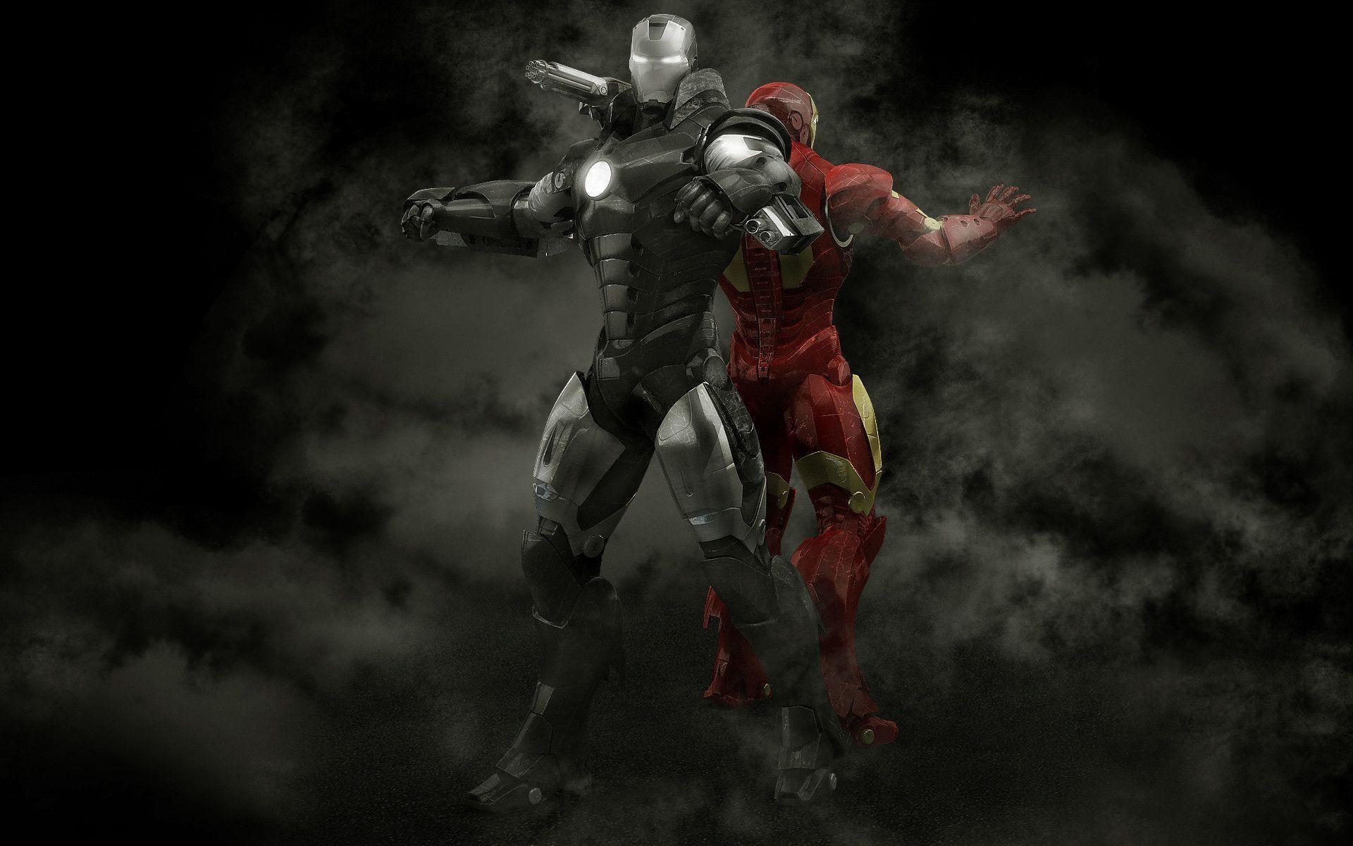 Pix For > Iron Man War Machine Wallpaper Hd