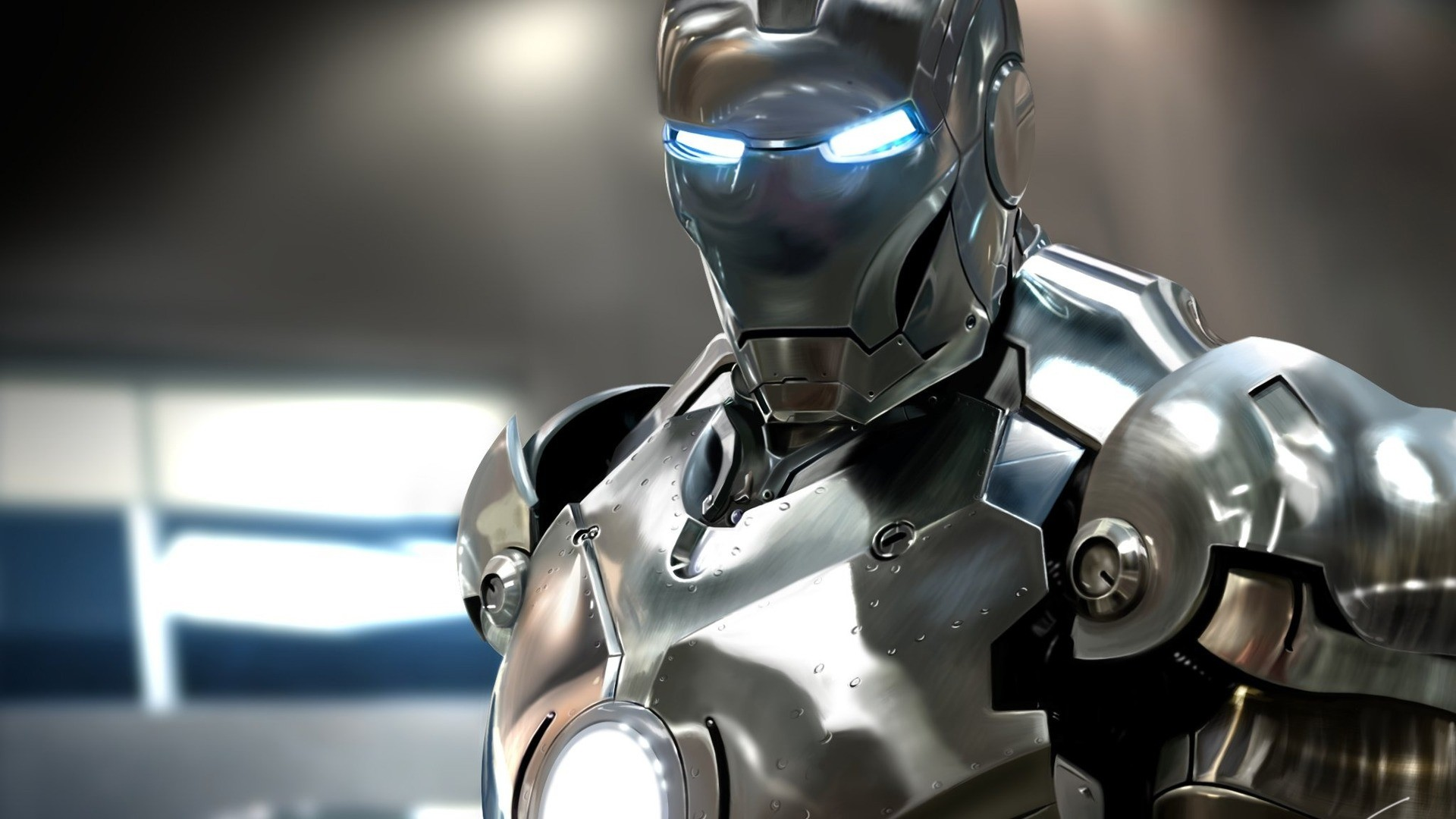 Left click on the image. Right click and 'Save Image As' To Download: Iron  Man 2 War Machine Wallpaper HD Wallpaper.