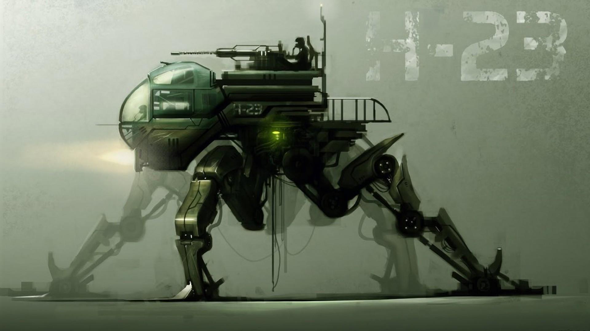 Fantasy Fantasy Art Futuristic Guns Robots Science Fi