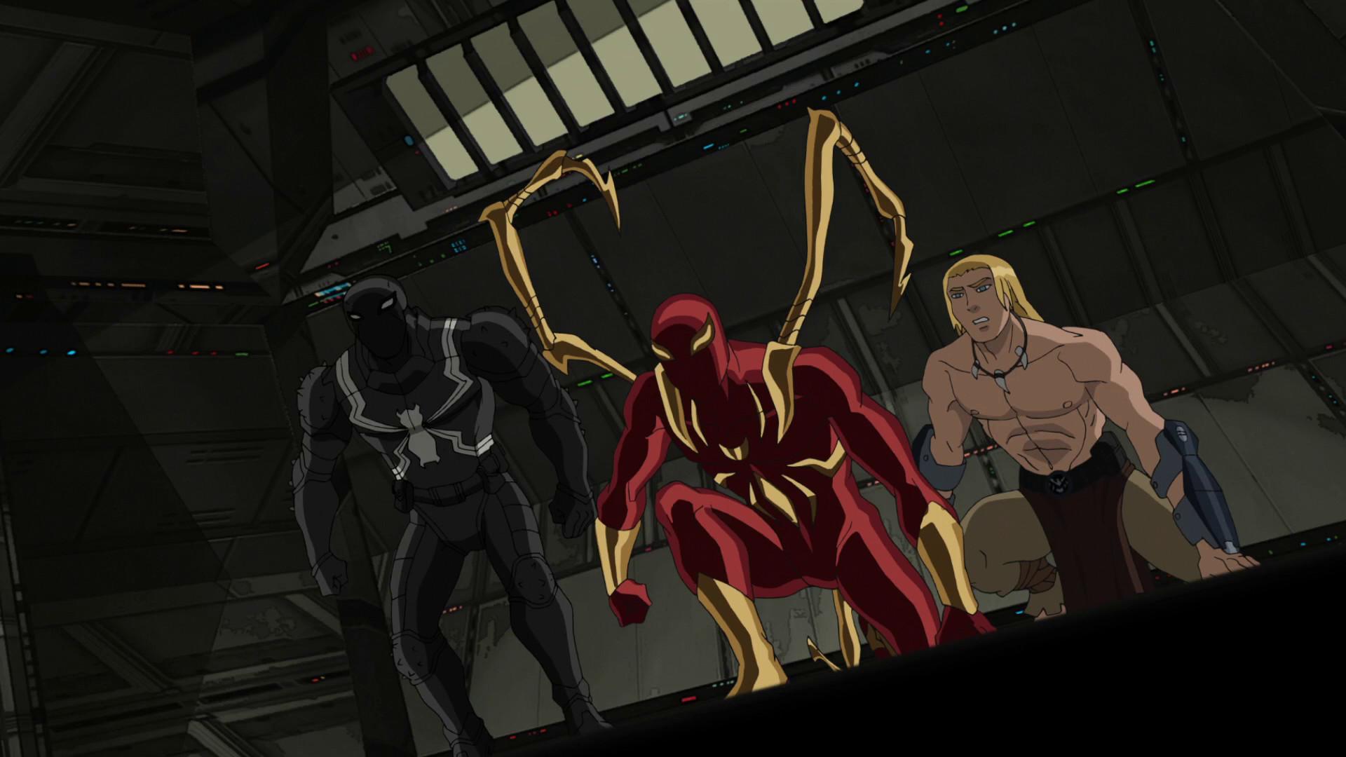 Image – Agent Venom Iron Spider Ka-Zar USMWW.png | Disney Wiki | FANDOM  powered by Wikia