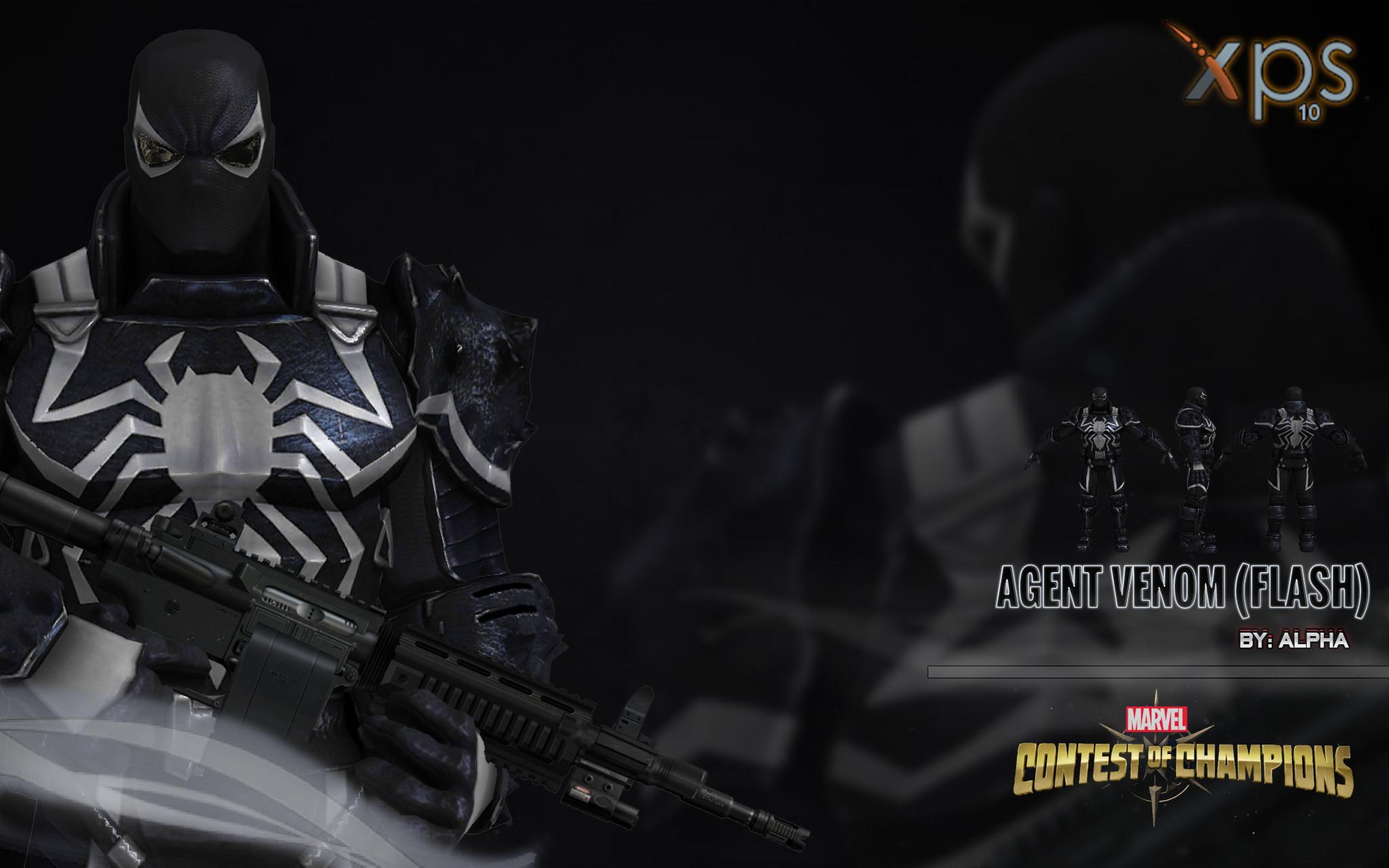 … Marvel: Contest of Champions – Agent Venom by XNASyndicate