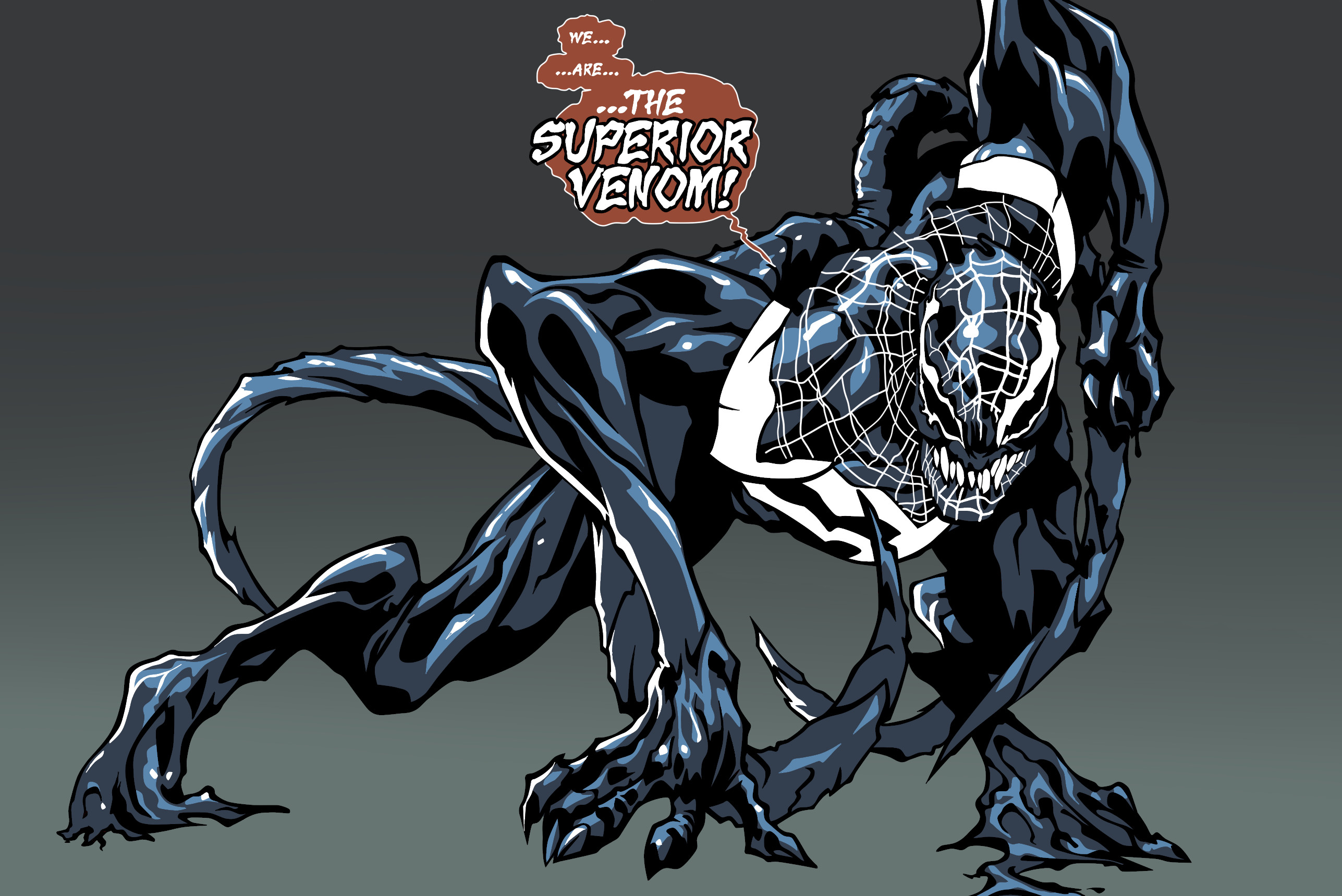 Superior Venom by kyouji-kuzunoha Superior Venom by kyouji-kuzunoha