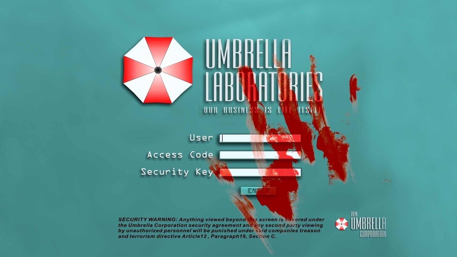 Umbrella Corporation, Resident Evil, Video Games, Blood Wallpapers HD /  Desktop and Mobile Backgrounds