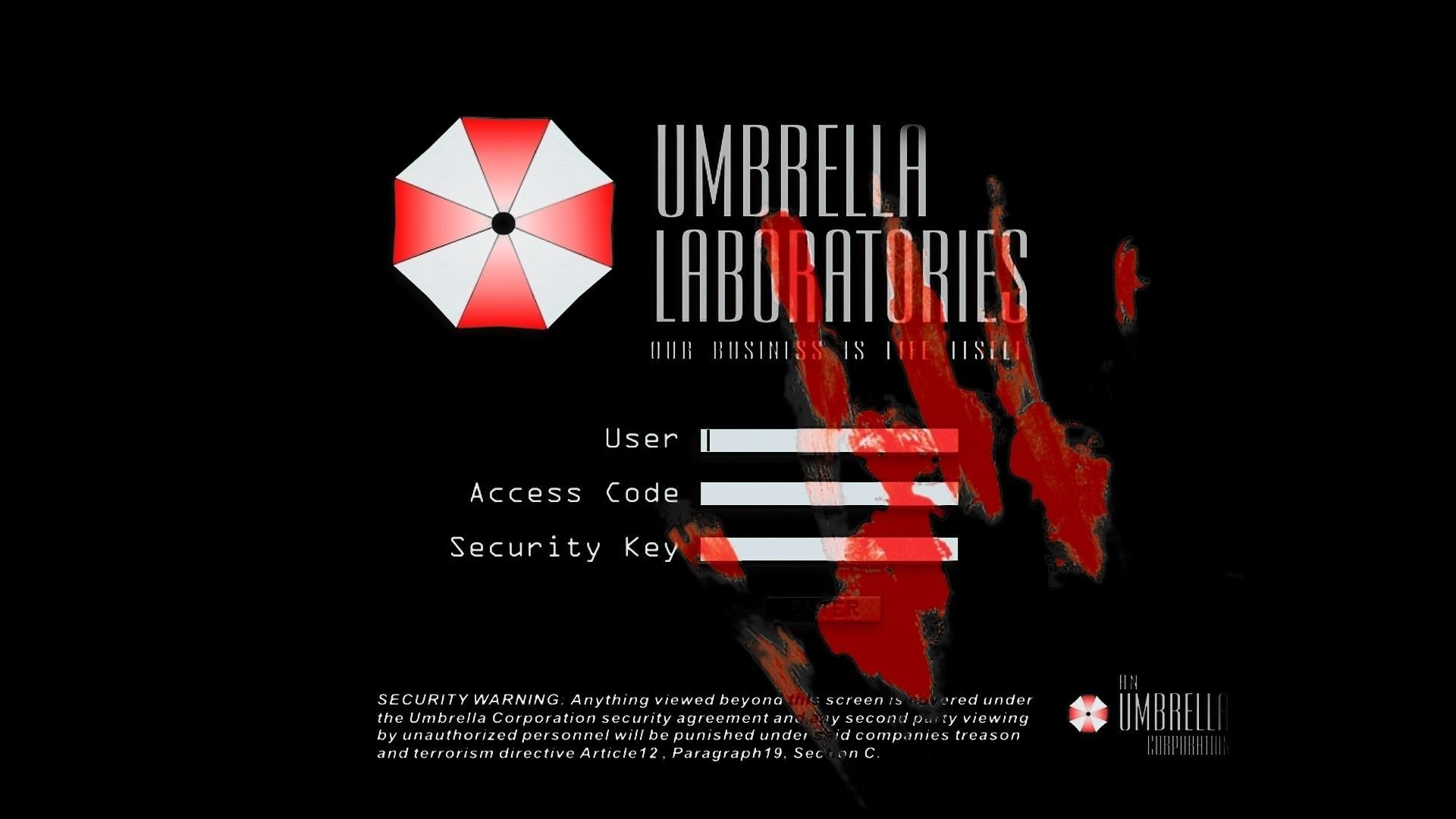 Resident evil umbrella corp wallpaper