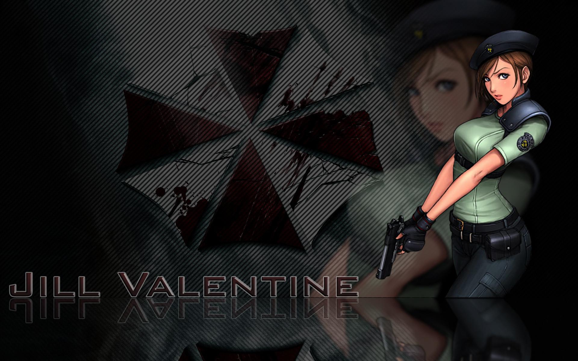 video games resident evil jill valentine umbrella corp #708317