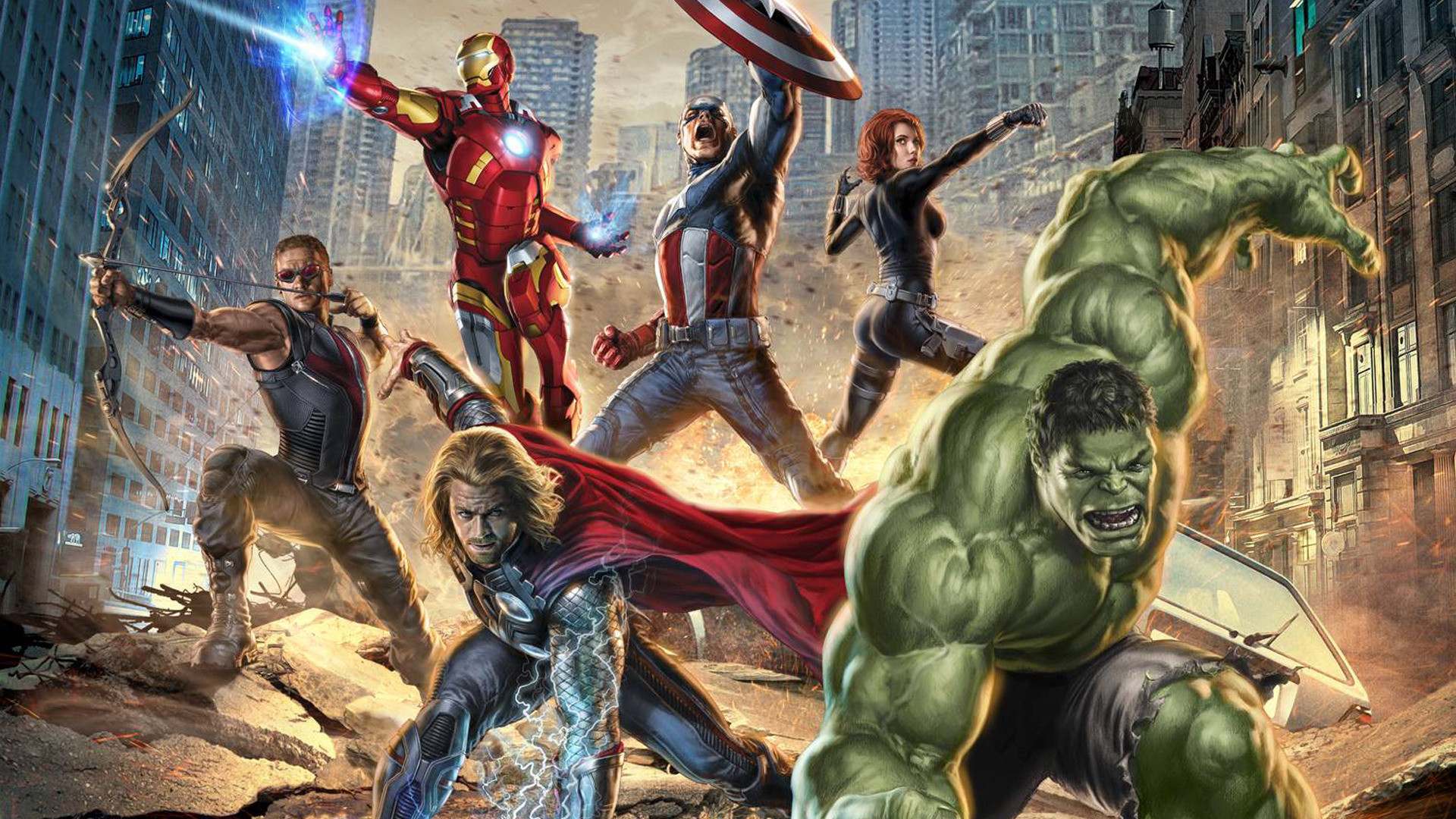 … Avengers Hd Wallpaper Collection