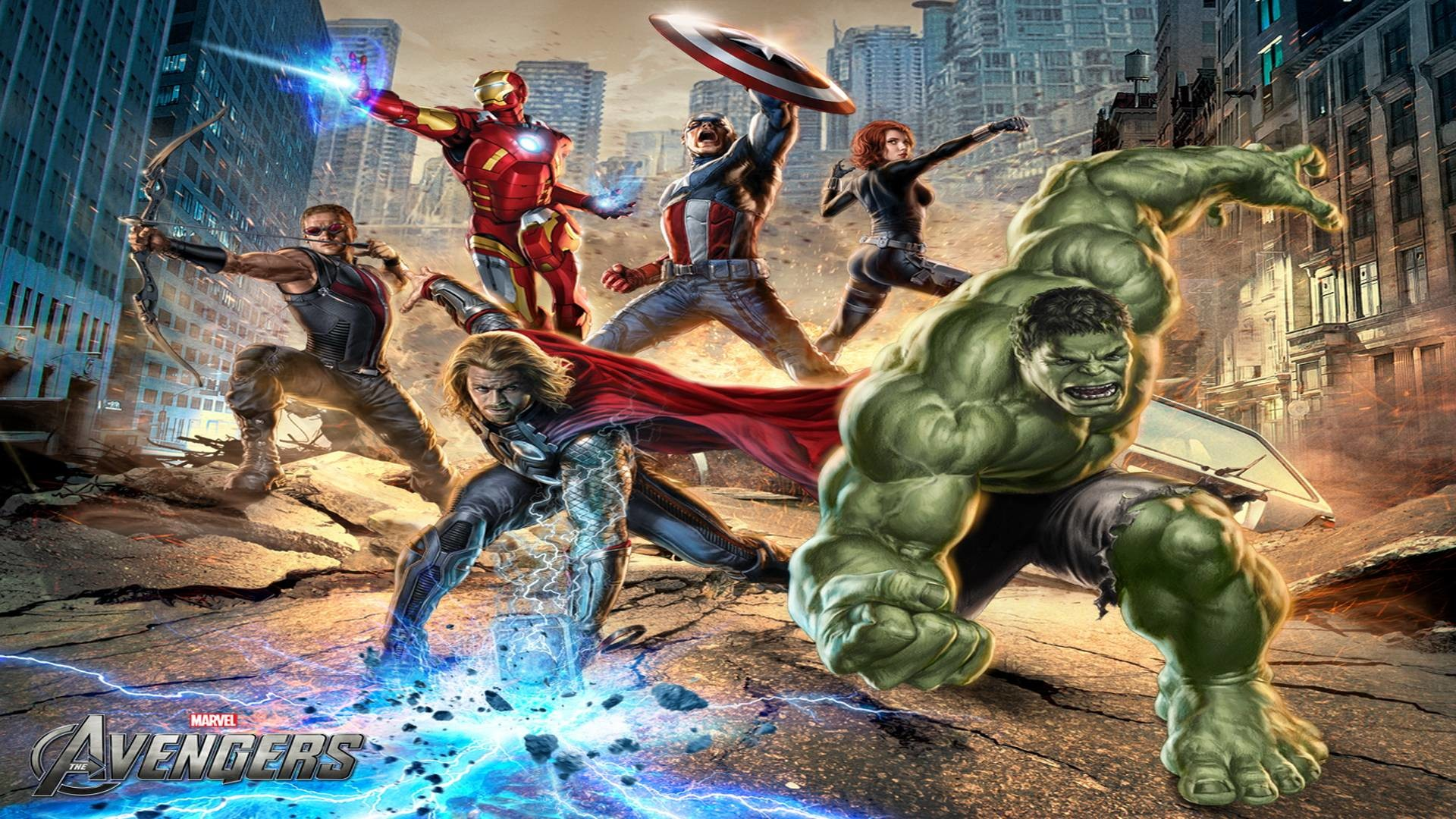 The Avengers Wallpapers For Desktop Movie Backgrounds