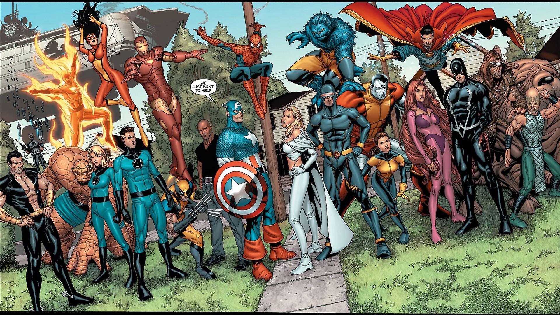 New Avengers Computer Wallpapers, Desktop Backgrounds | | ID .