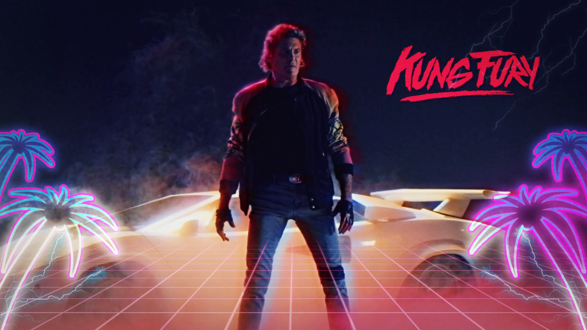 … Kung Fury Fan-Made Wallpaper by VertiGo-Official