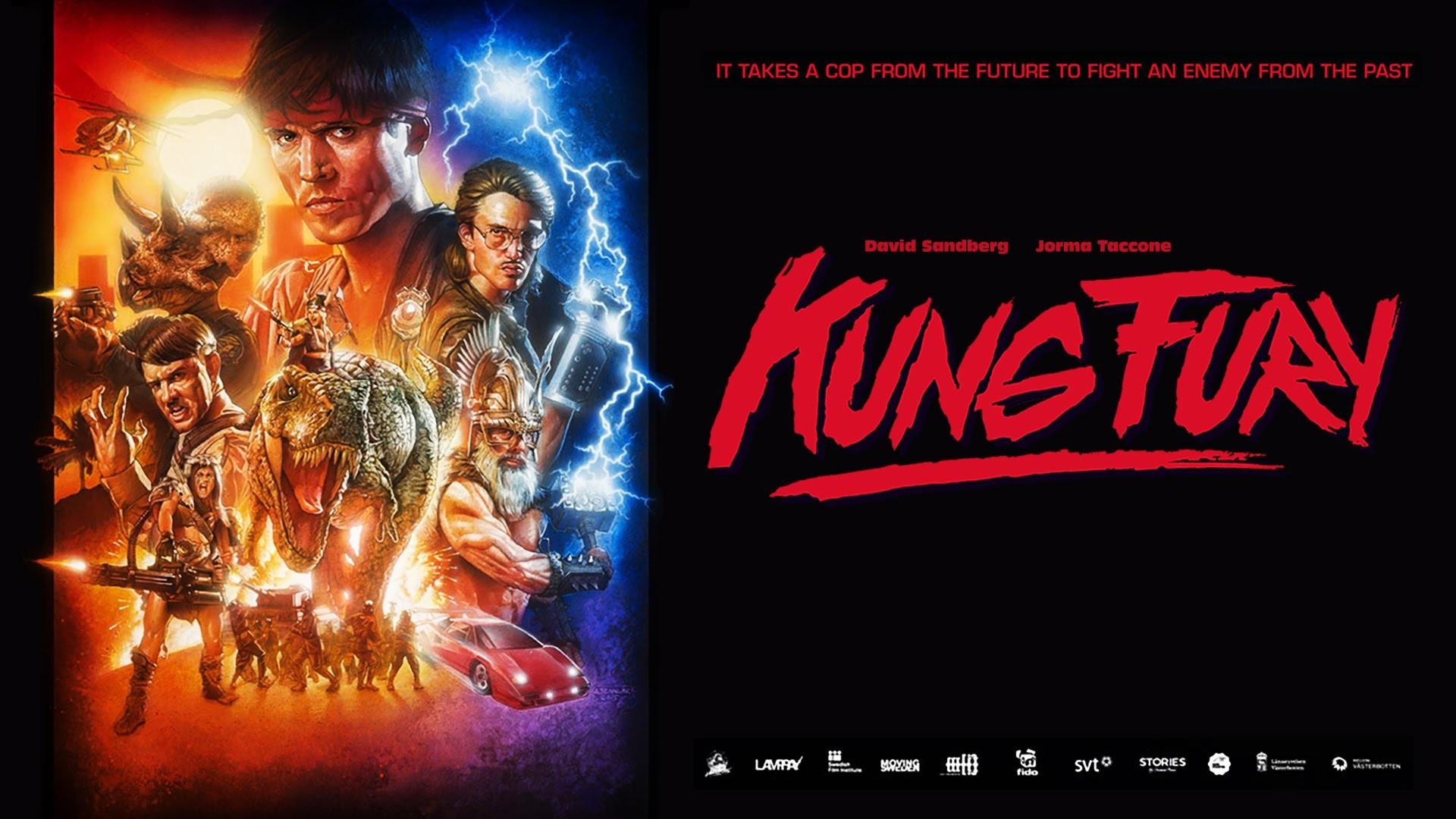 Kung Fury (2015) – David Sandberg – Jorma Taccone, Steven Chew, Leopold  Nilsson – DVD Fan Commentary