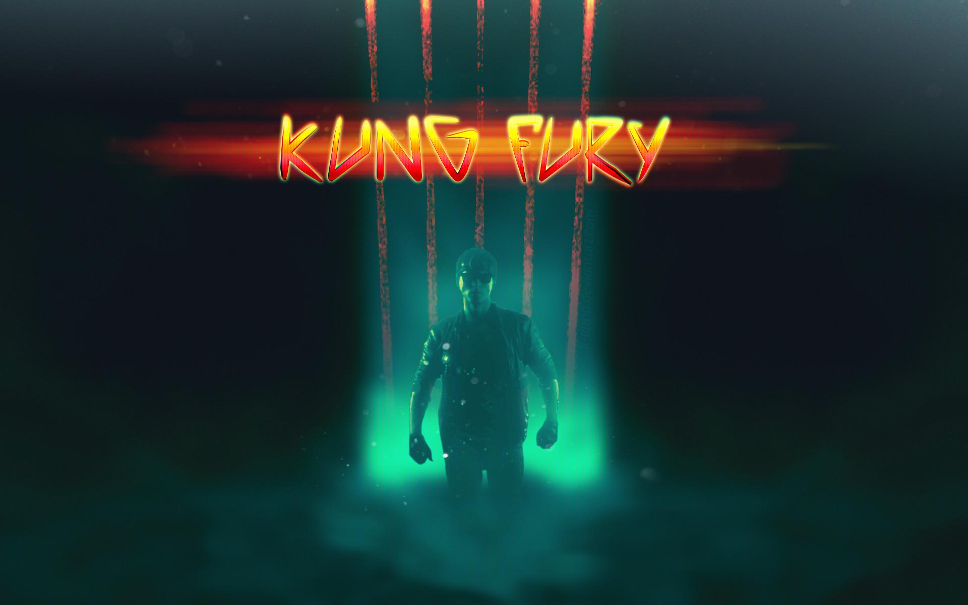 … Kung Fury Wallpaper by K-appa