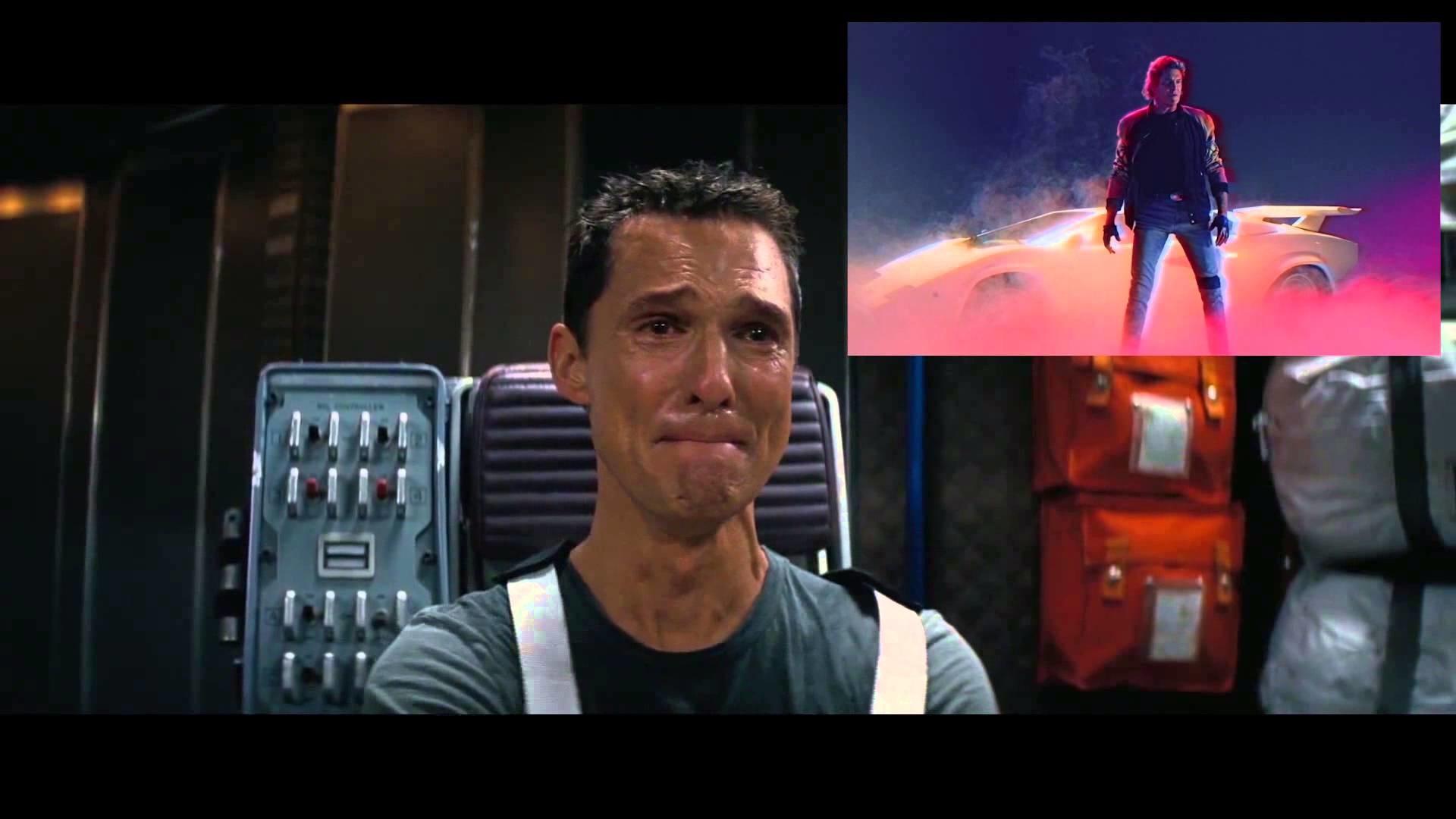 "Matthew Mcconaughey's reaction to ""David Hasselhoff – True Survivor"" KUNG  FURY – YouTube"