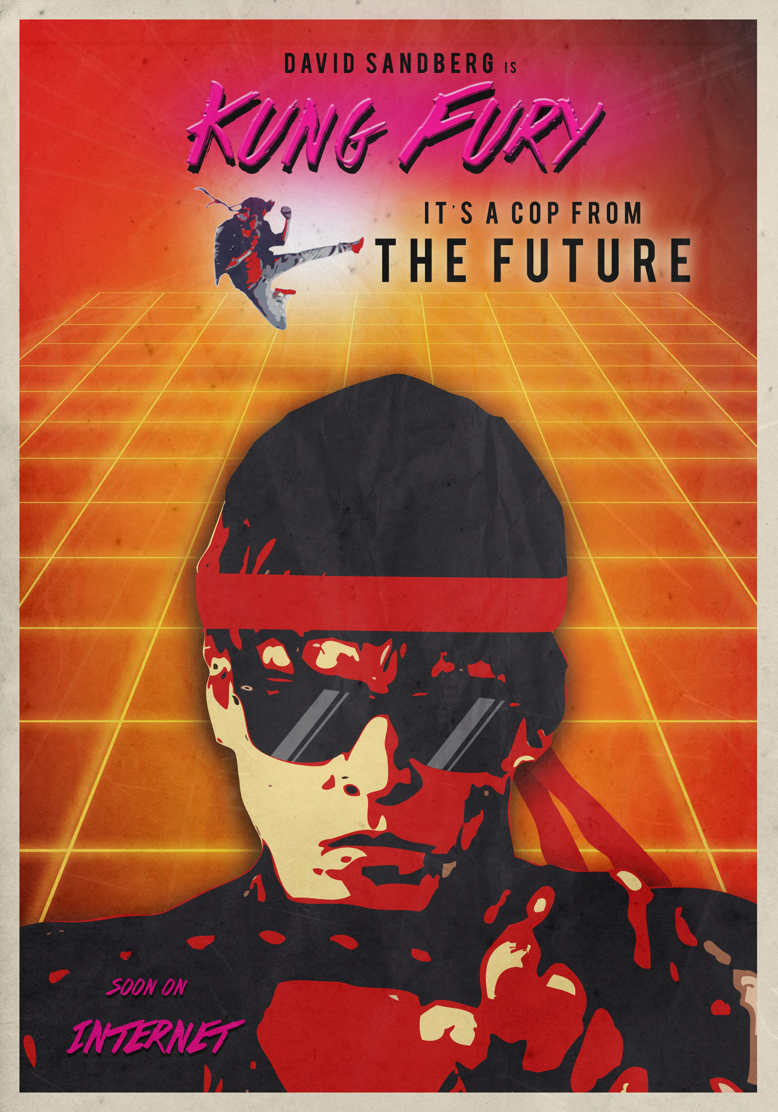 … Kung Fury – Fan Poster by Caparzofpc