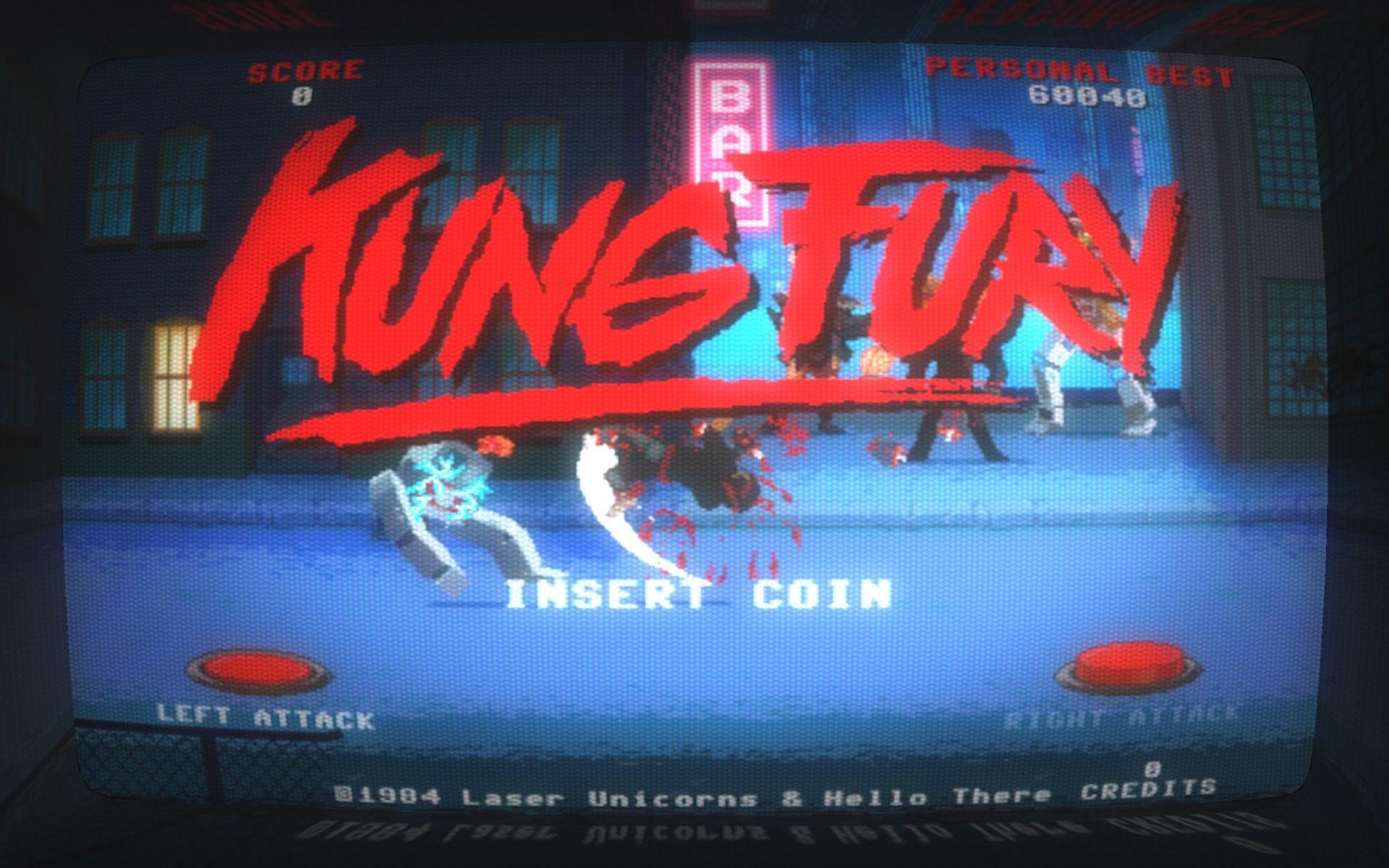 Kung Fury: Street Rage – Insert Coin