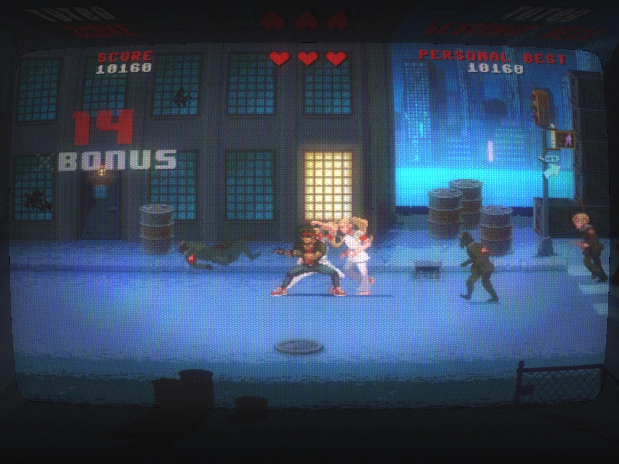Kung Fury iPad, screenshot 1