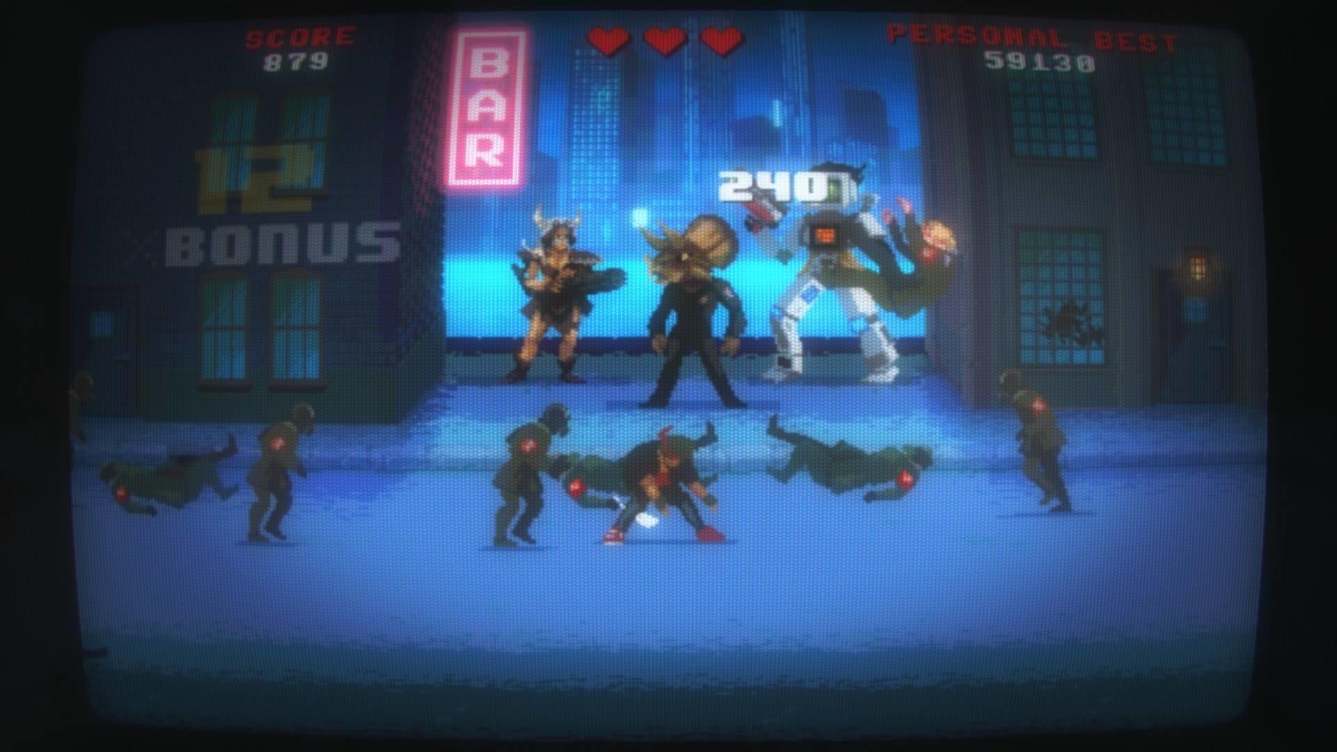 Kung fury, Kung Fury: Street Rage, Street Rage