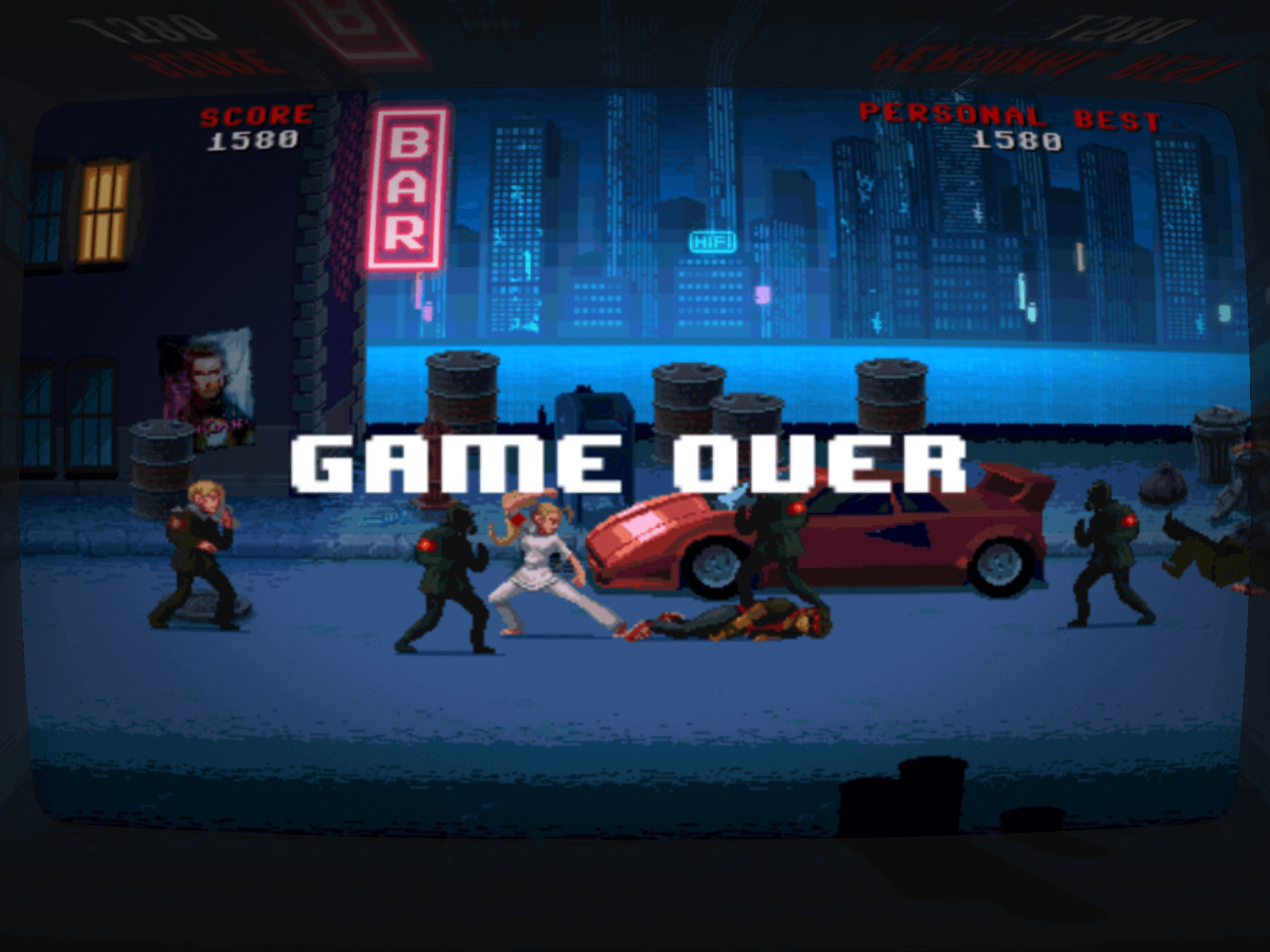 Fail fast, then get back into it – fast-paced arcade action at its